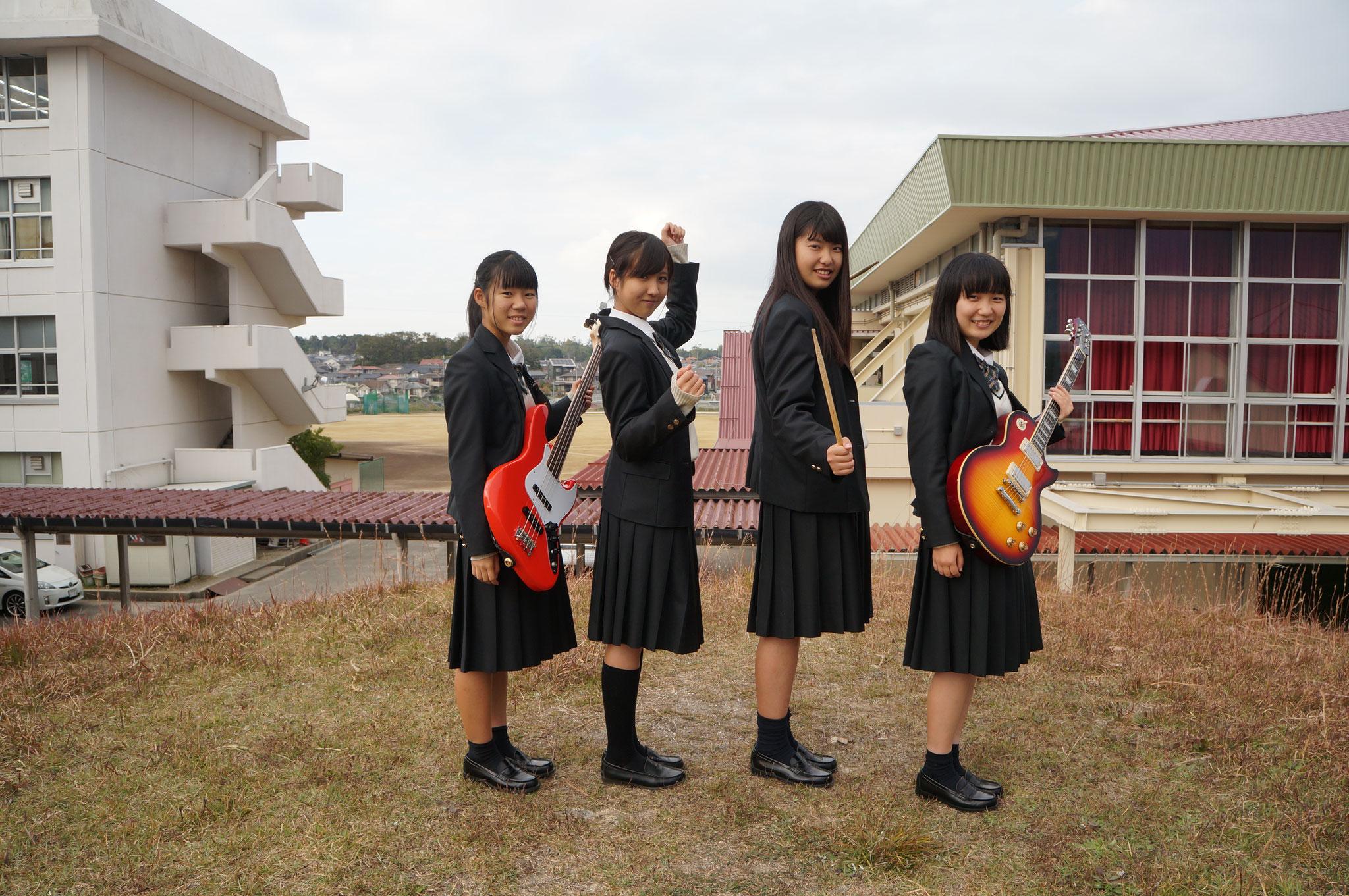奈良県立西の京高校軽音楽部 軽音