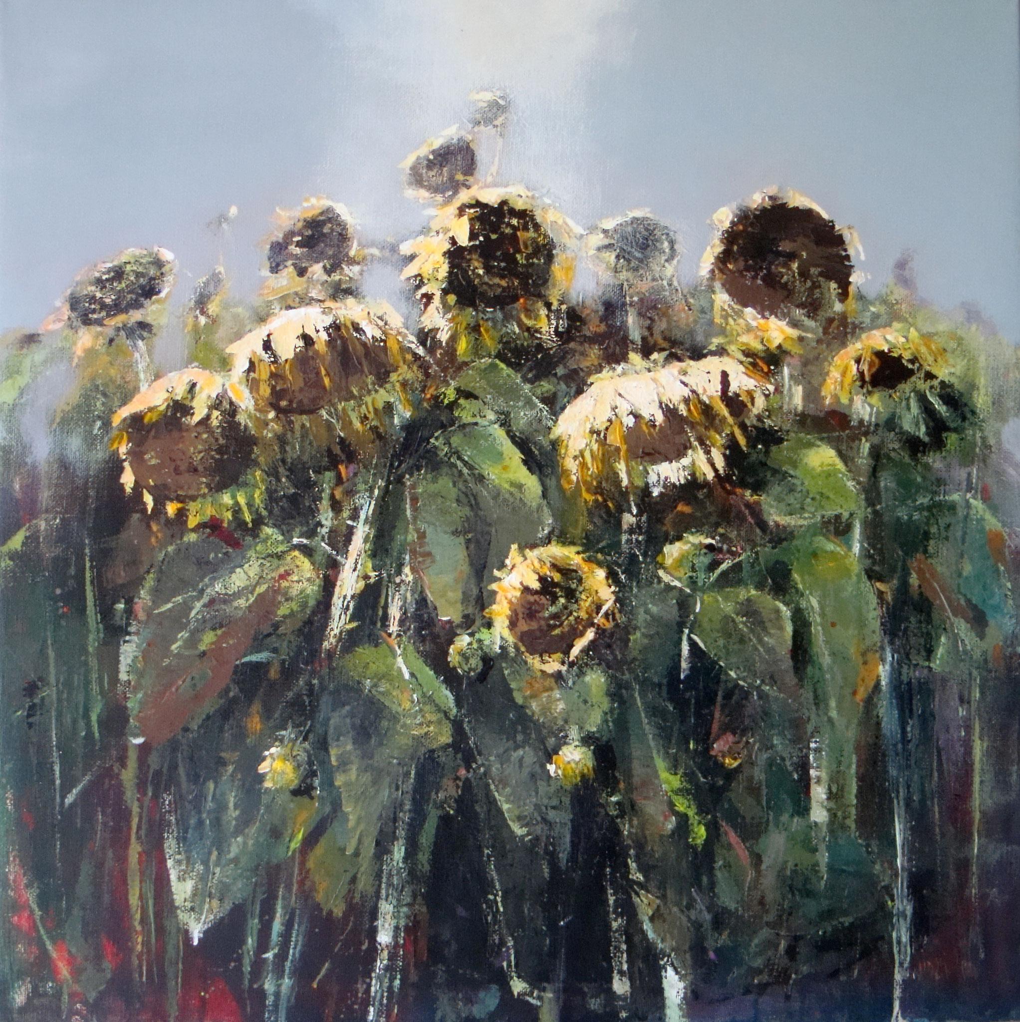 """I giganti L'ultimo canto dell'estate"" ´- Öl  auf Leinwand 80x80 cm"