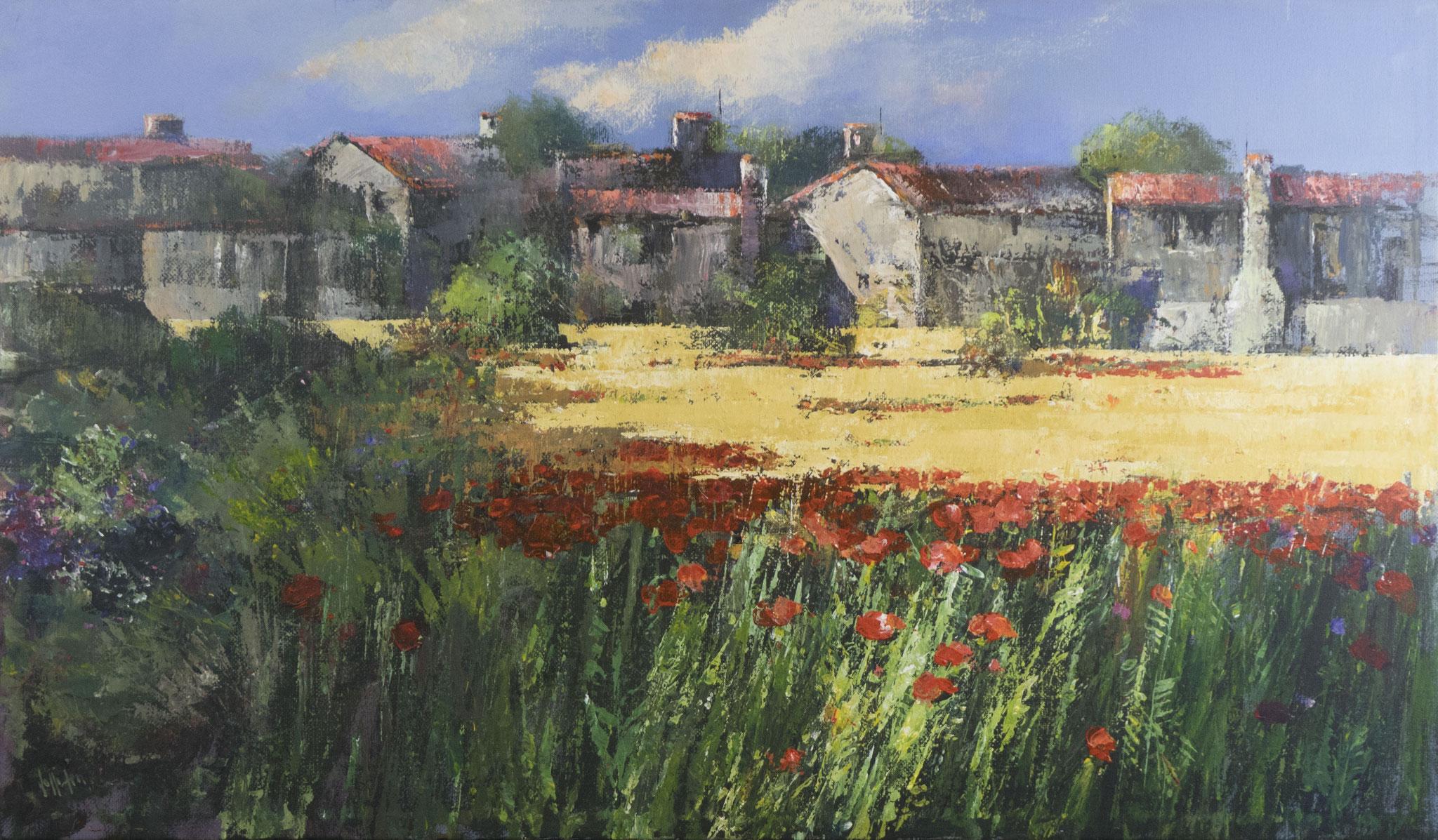 """La calda estate"" - Öl auf Leinwand - 120x70 cm"