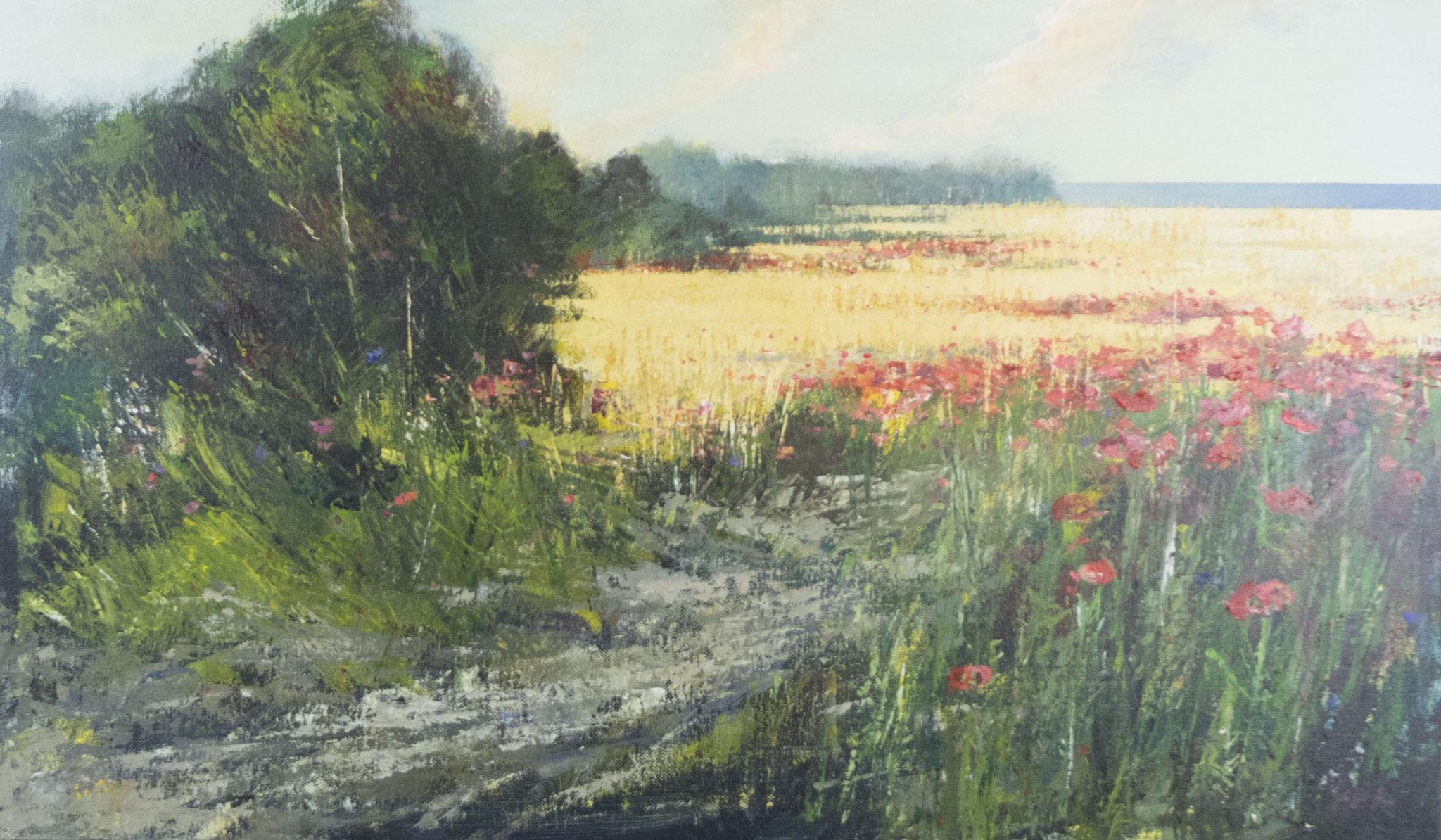 """""""Presenze"""" 2011 - Öl auf Leinwand - 120x70 cm"""