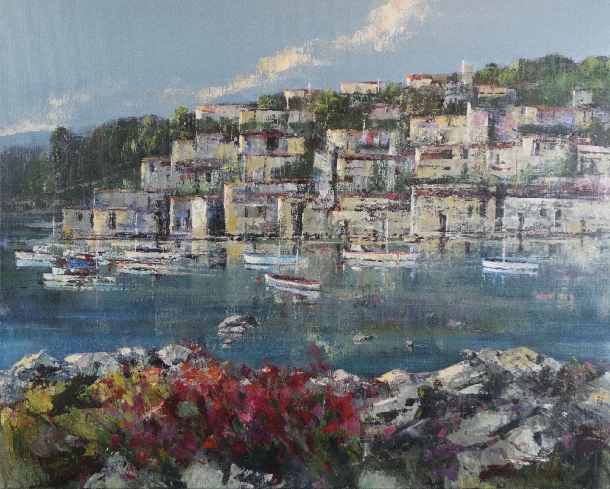 """""""Porto"""" 2009 - Öl auf Leinwand - 100x80 cm"""