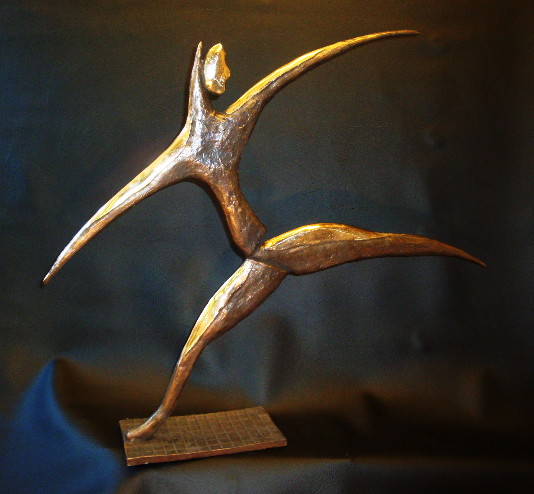 """""Tänzerin"" - Bronze - 68x60 cm"