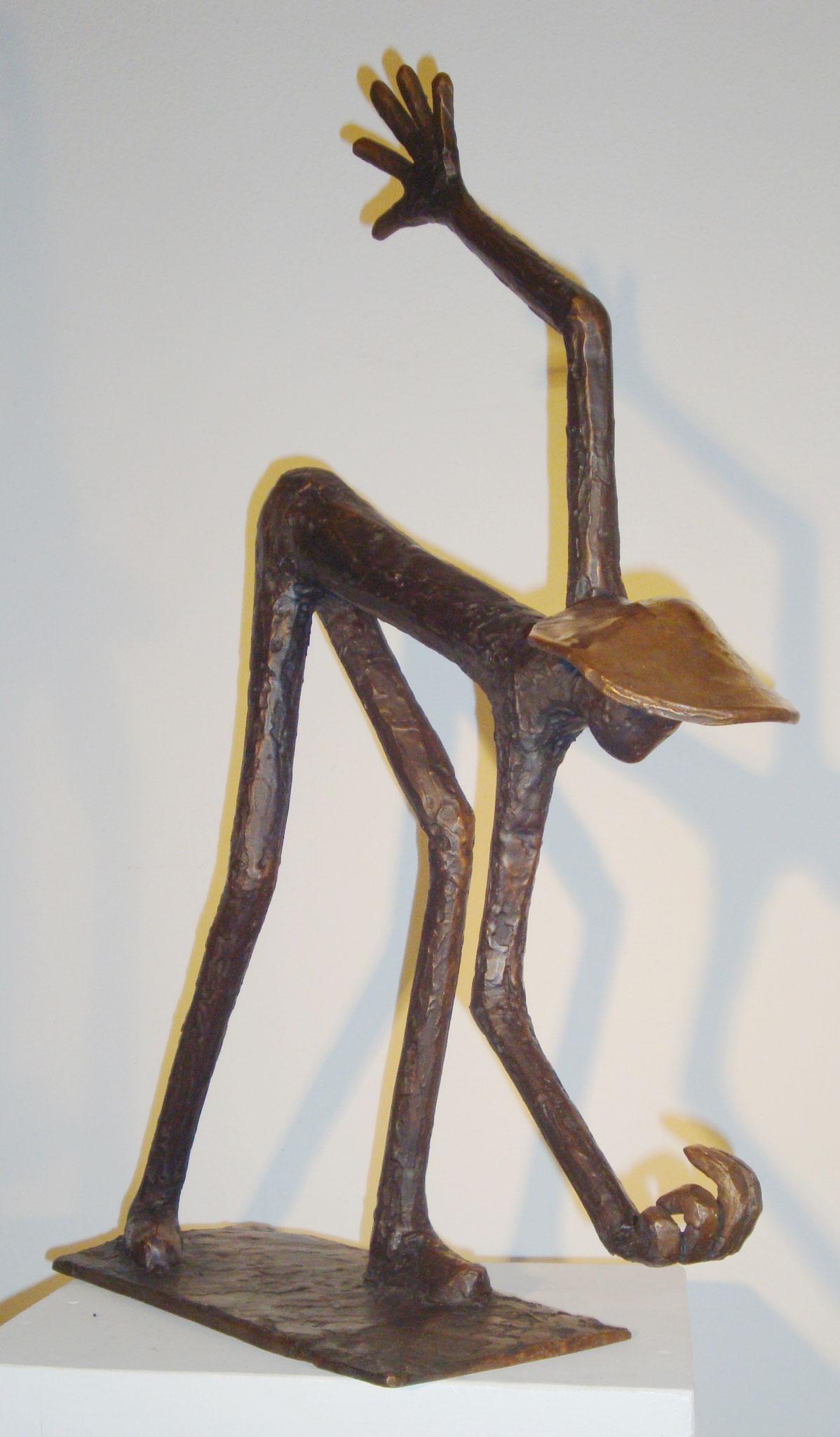 """""""Begrüßung"""" - Bronze - 42x56 cm"""