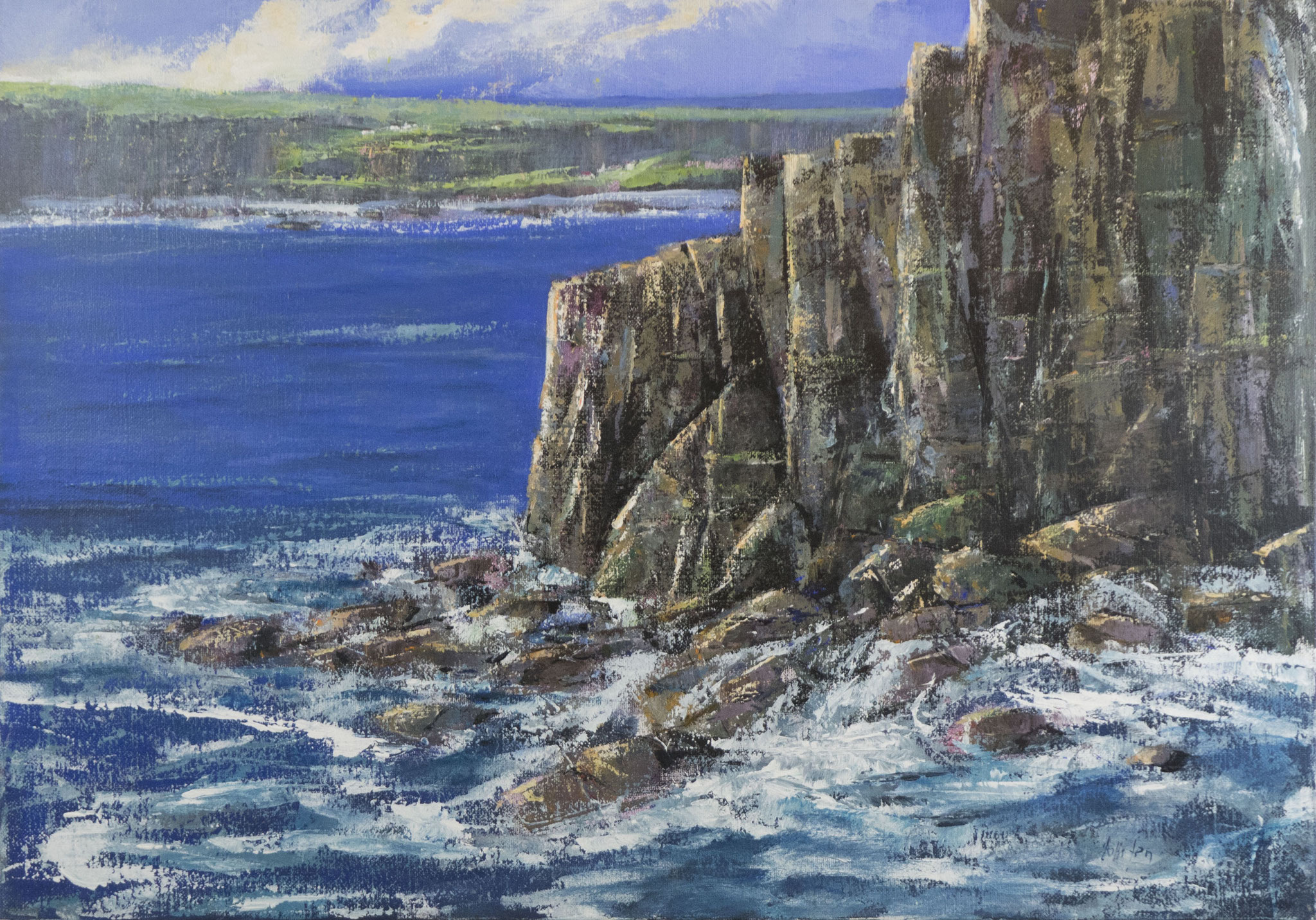 """Dingle Peninsula"" 2008 - Öl auf Leinwand - 100x70 cm"