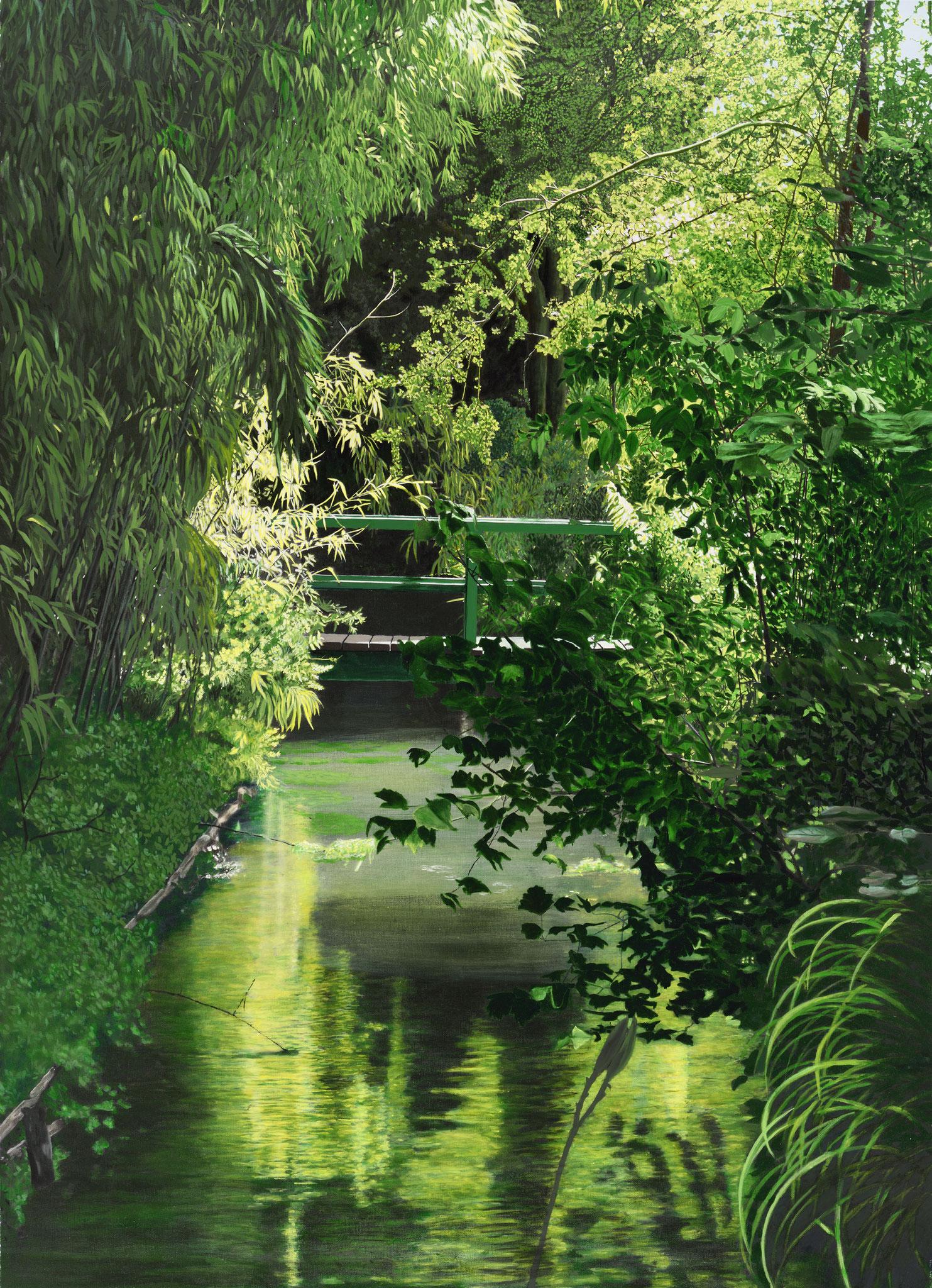 """""""Monéts Garten I"""" - Öl auf Leinwand - 138x100 cm"""