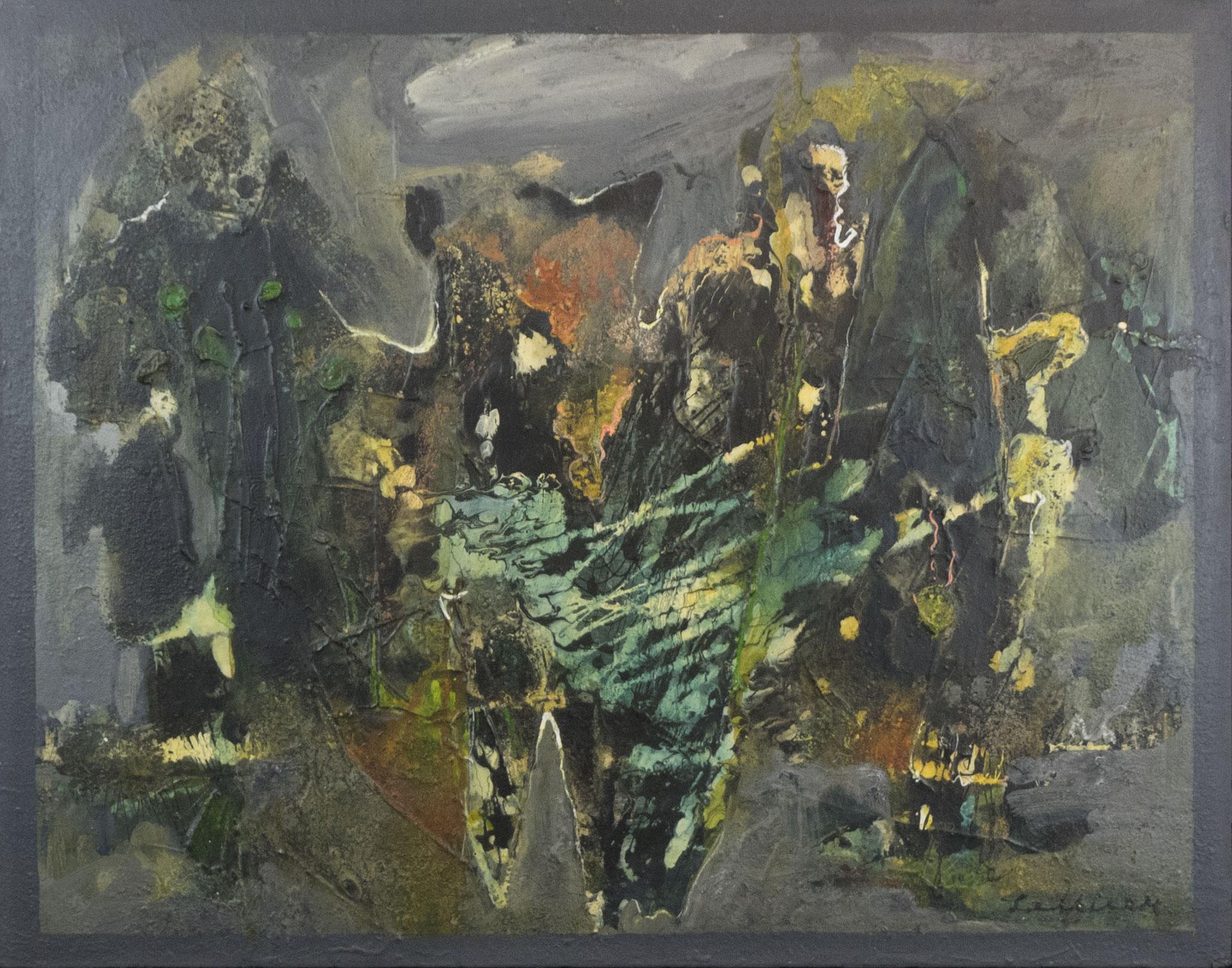 """4 Träume Traum 4"" 1963 - Öl auf Leinwand - 96x75,5 cm"