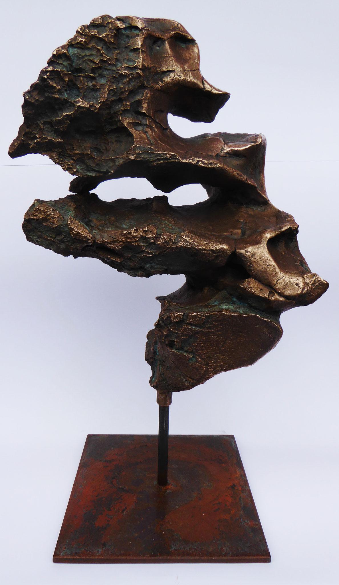 """Ohne Titel"" - Bronze - 27x56x20 cm"