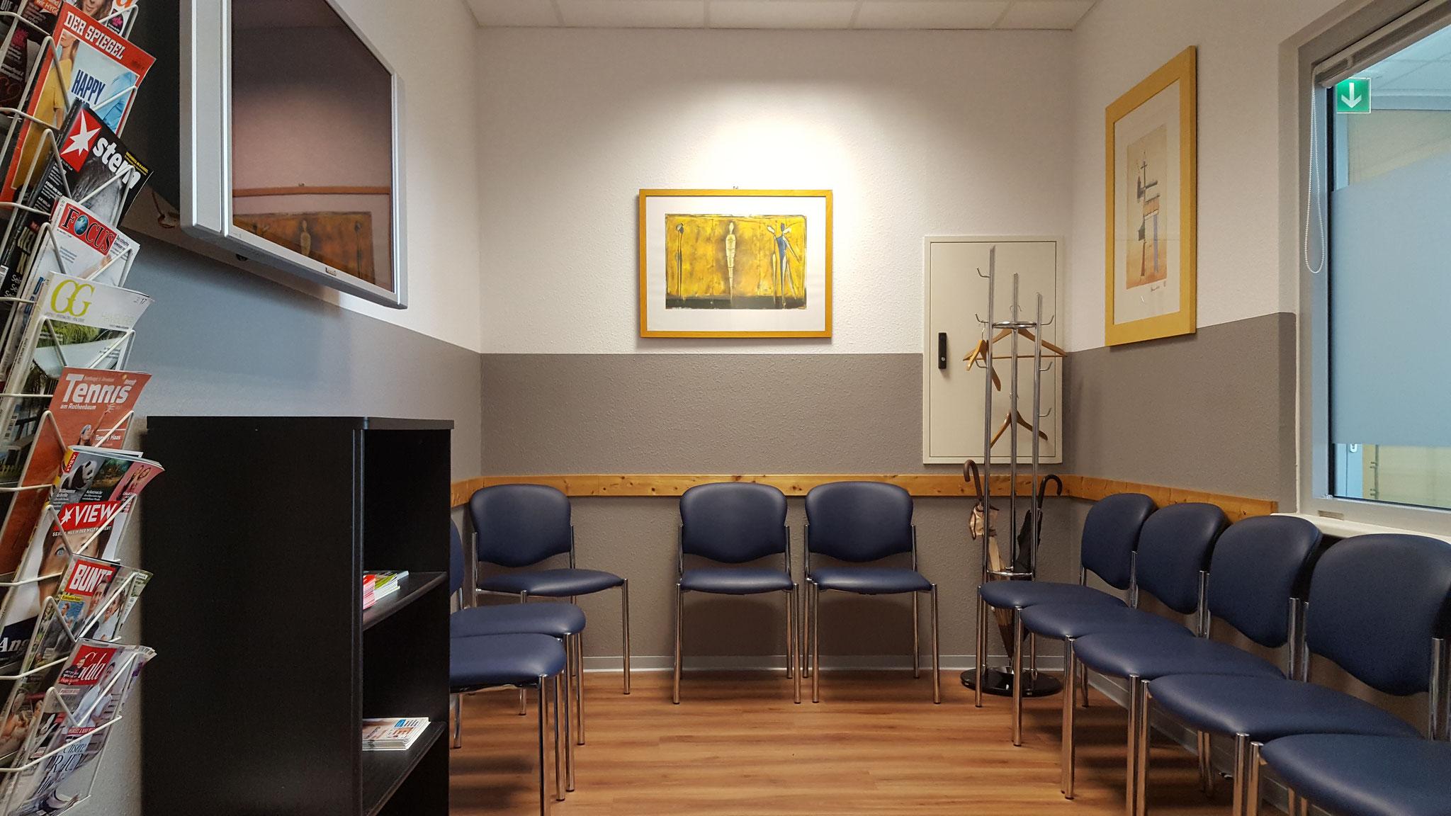Wartezimmer Allgemeinarzt