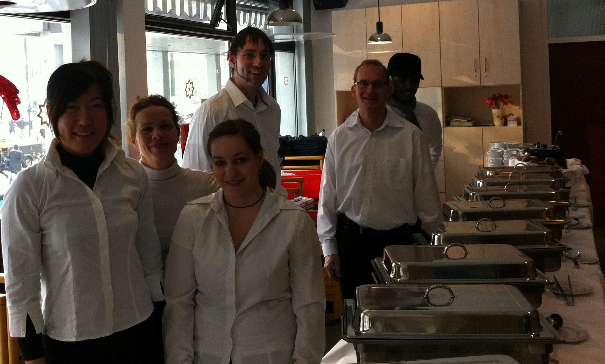 Weihnachtsfeier in Düsseldorf mit unserem Team