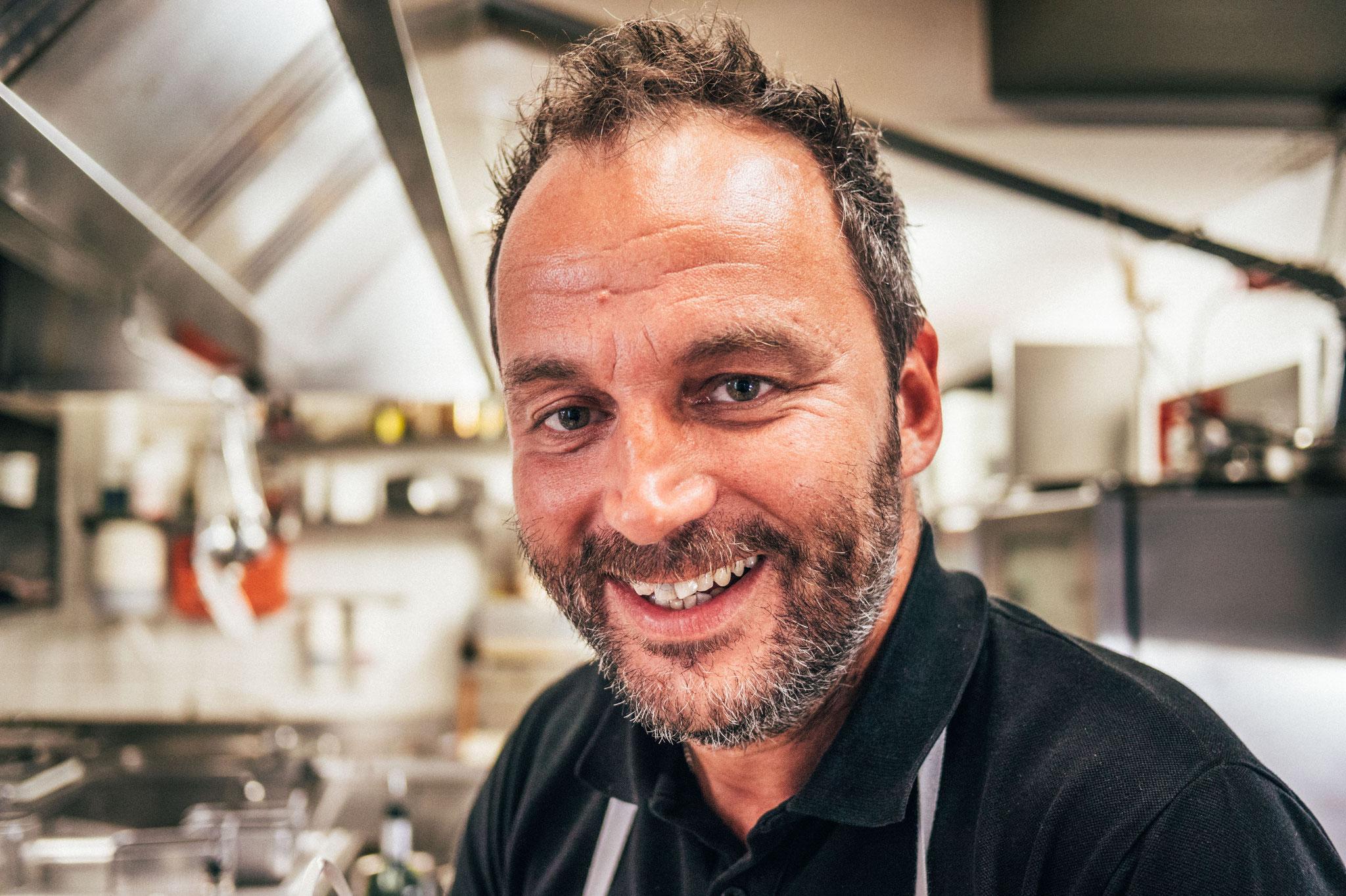 Küchenchef Harald Fink zeichnet verantwortlich...