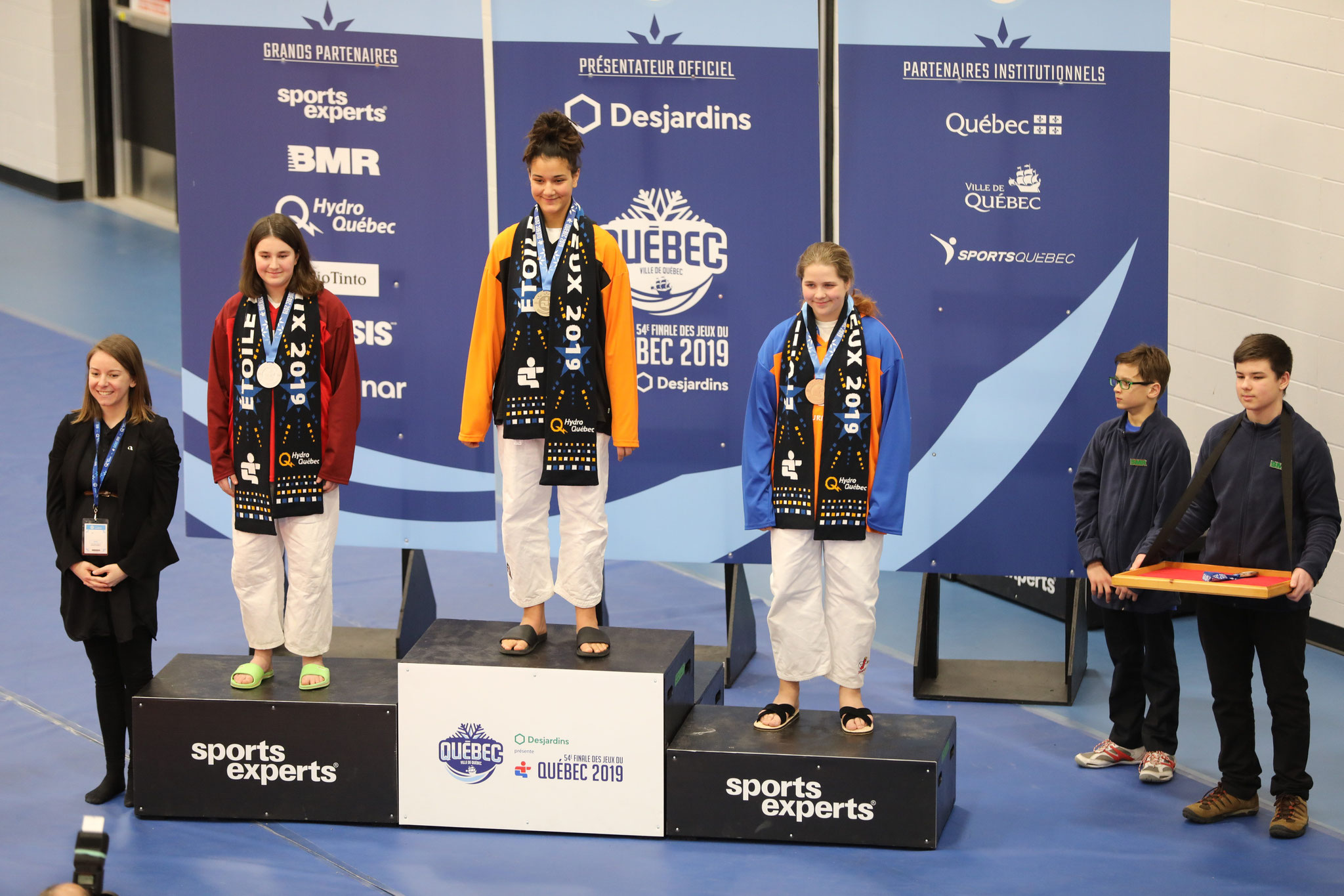 Kathie Bourque , médaille de bronze