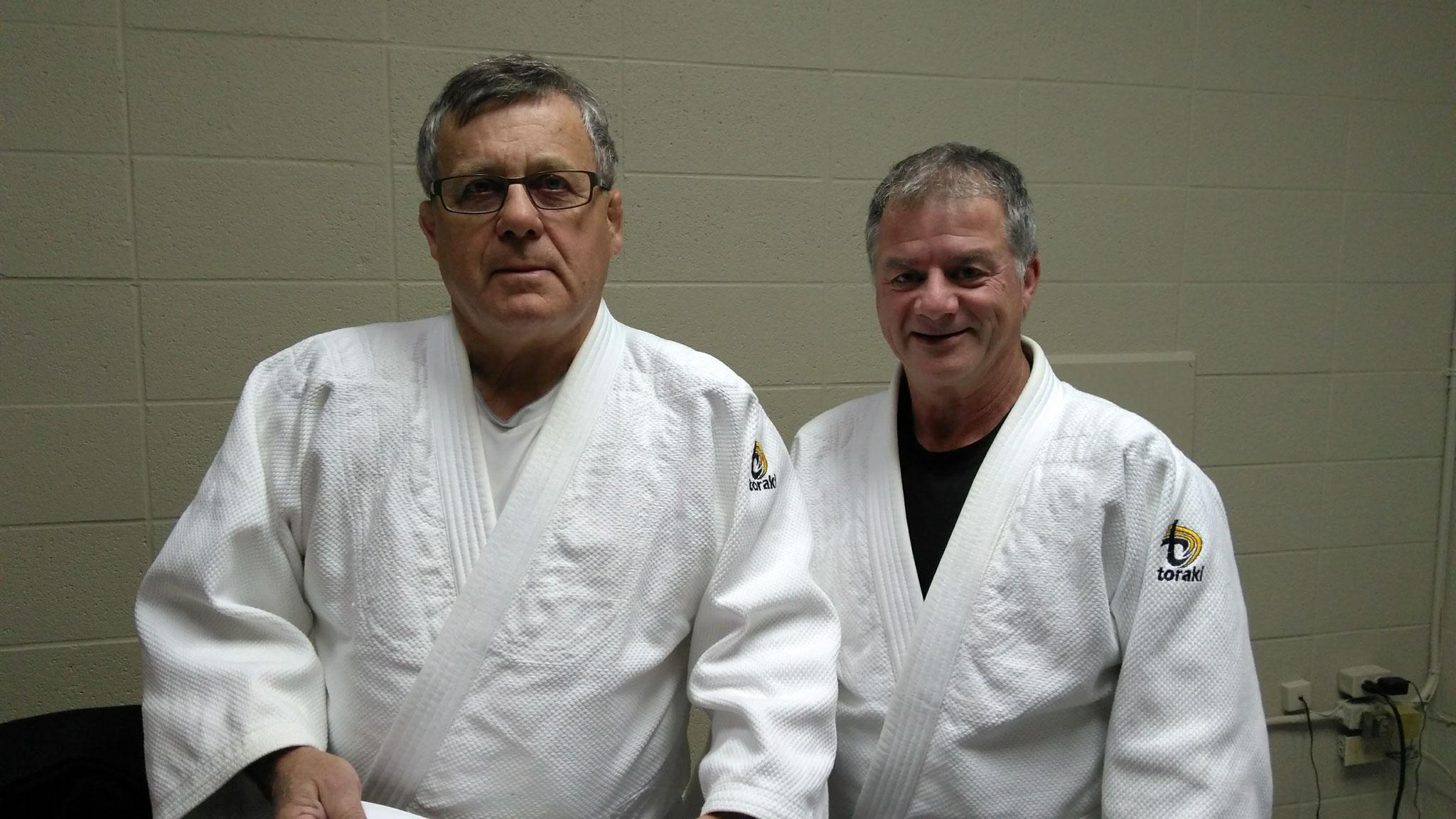 Yves Landry et Christian Gagné