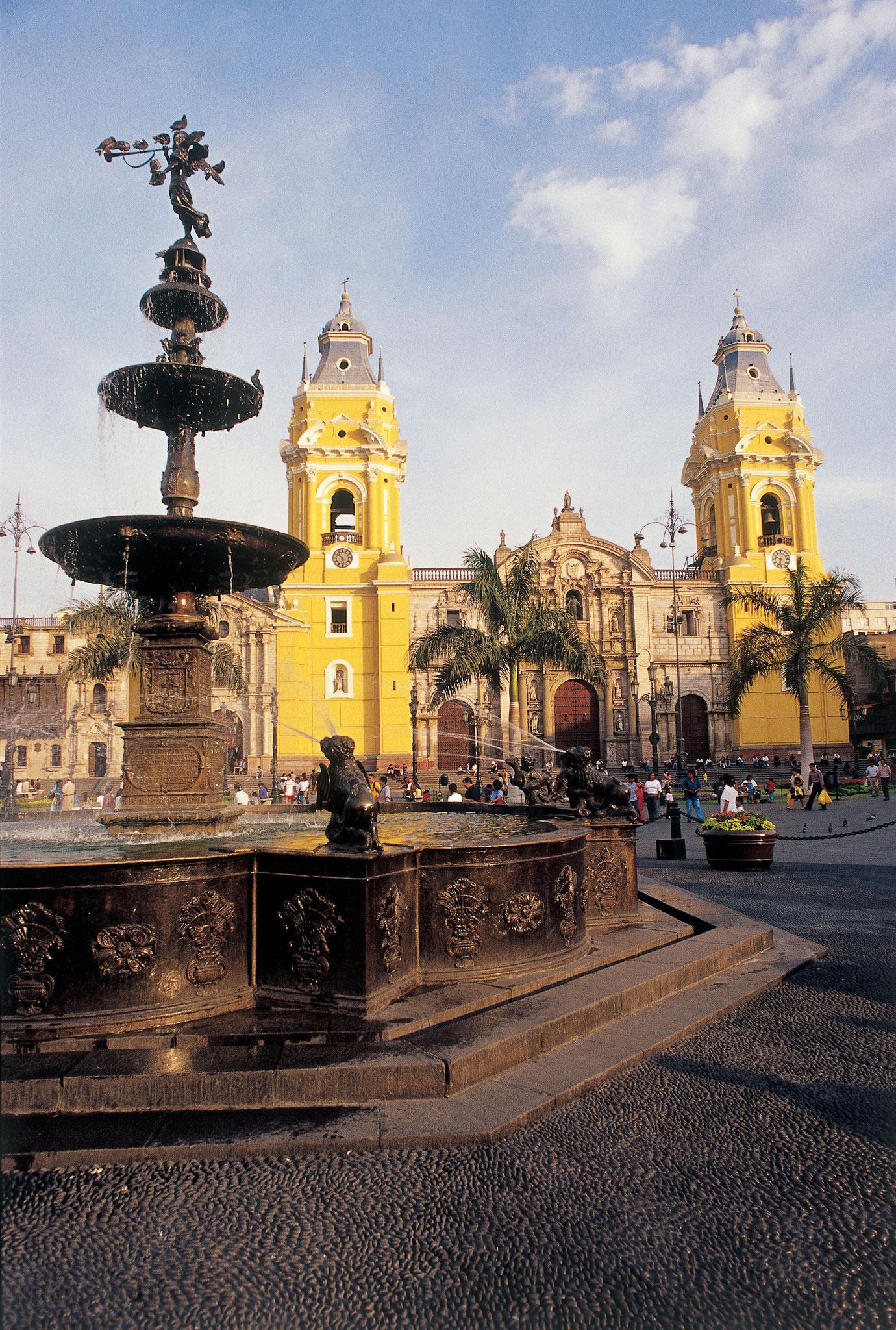 Limas koloniales Zentrum