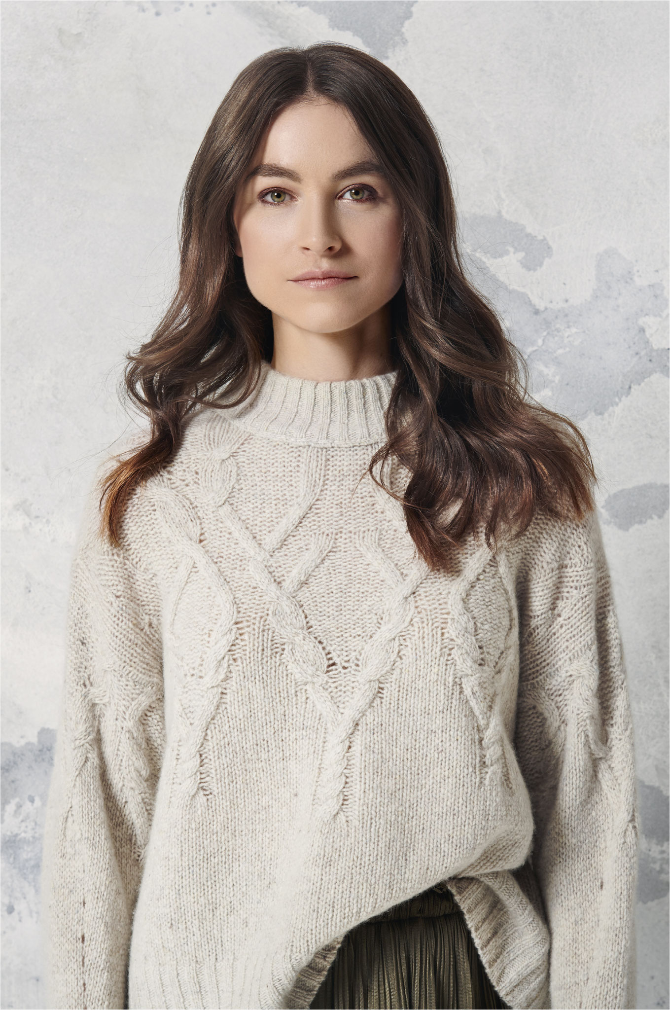 ESISTO - Cashmere - Collection H/W 2020 - Pullover mit Zopfmuster