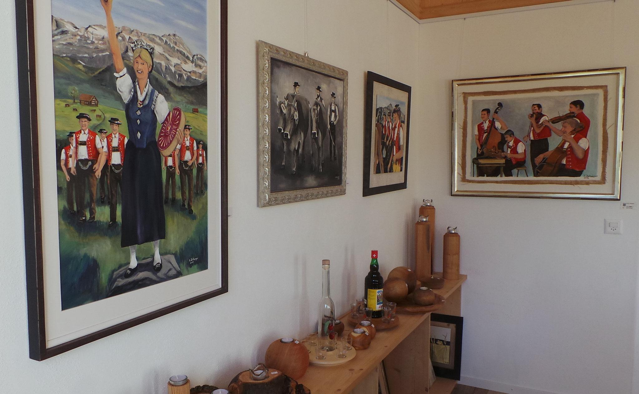 Künstler aus der Region zeigten wieder tolle Kunst