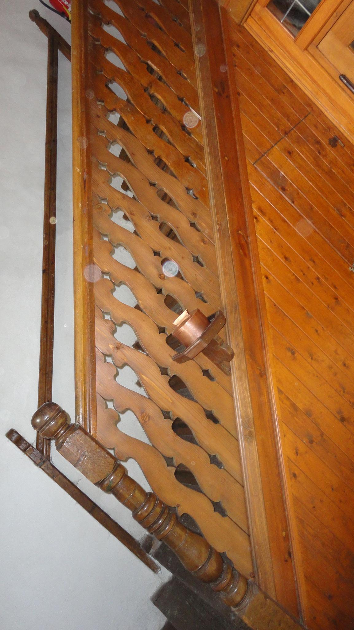 Renovierung Kirchen-Treppengeländer