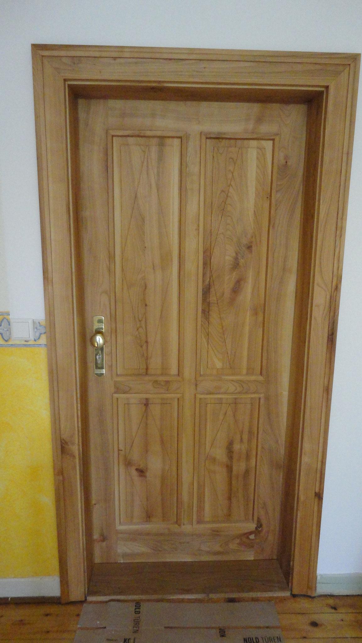 Zimmertür / Kirsche massiv
