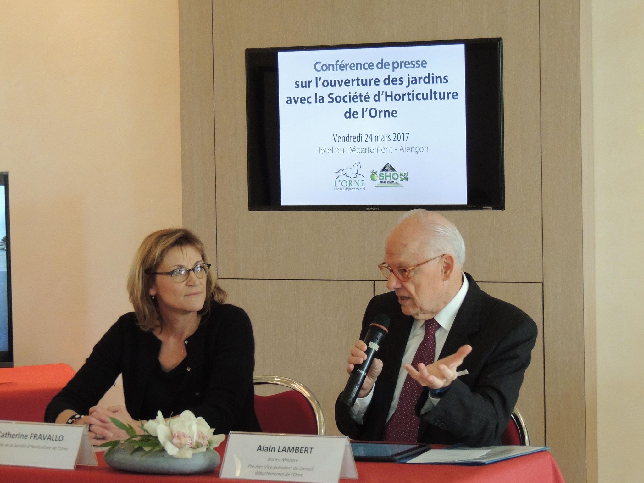 24 mars 2017 : signature d'une convention entre le C.D. et la SHO