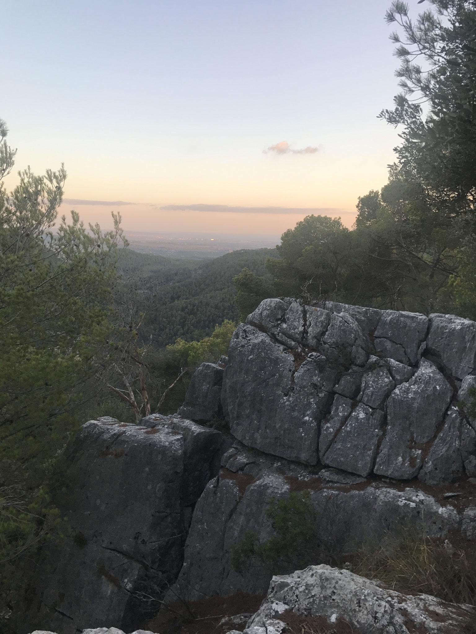Serra de Tramuntana / Aussicht vom Hausberg