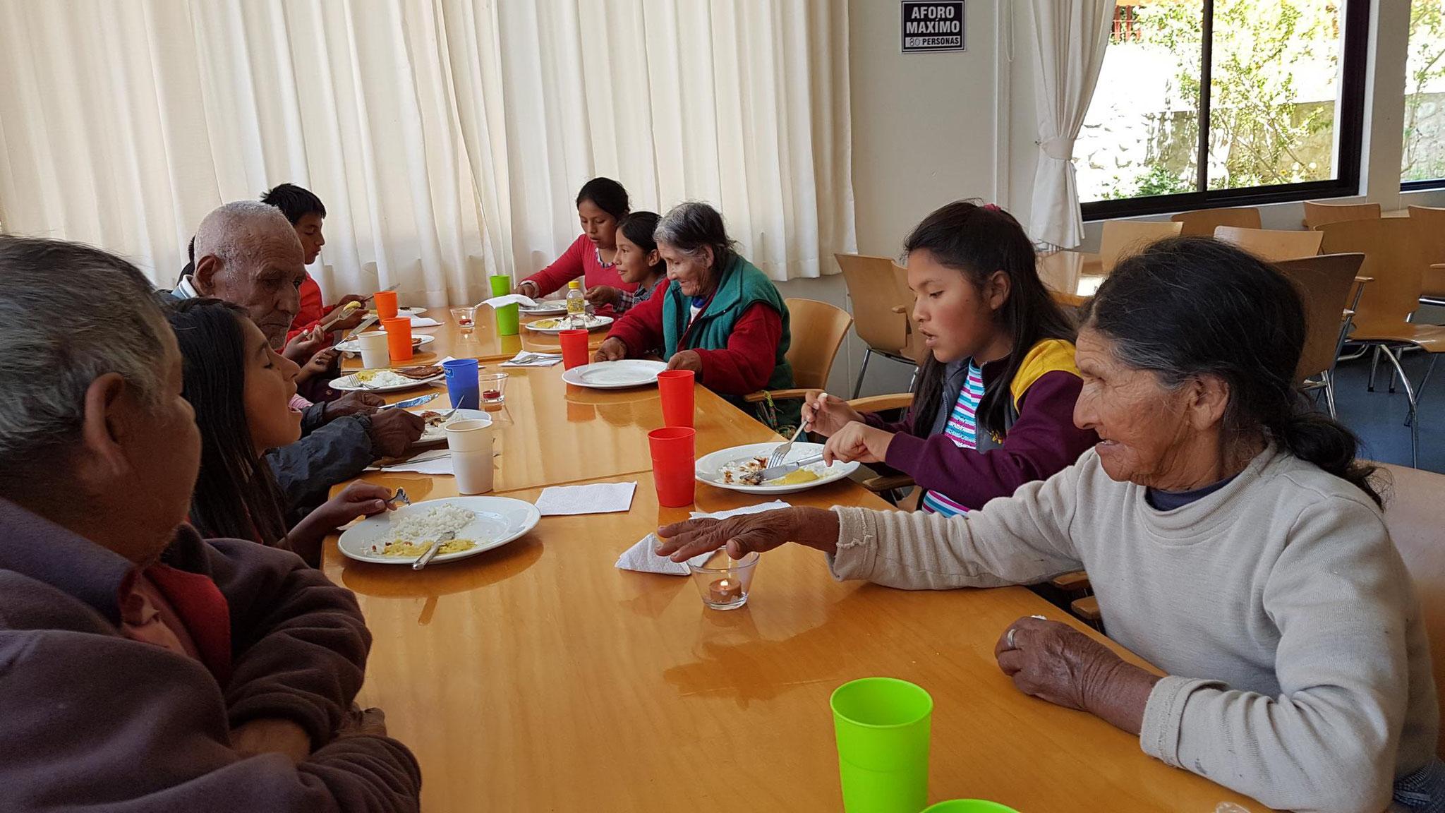 Der Vormittag wurde zusammen mit einer 6. Klasse organisiert ...