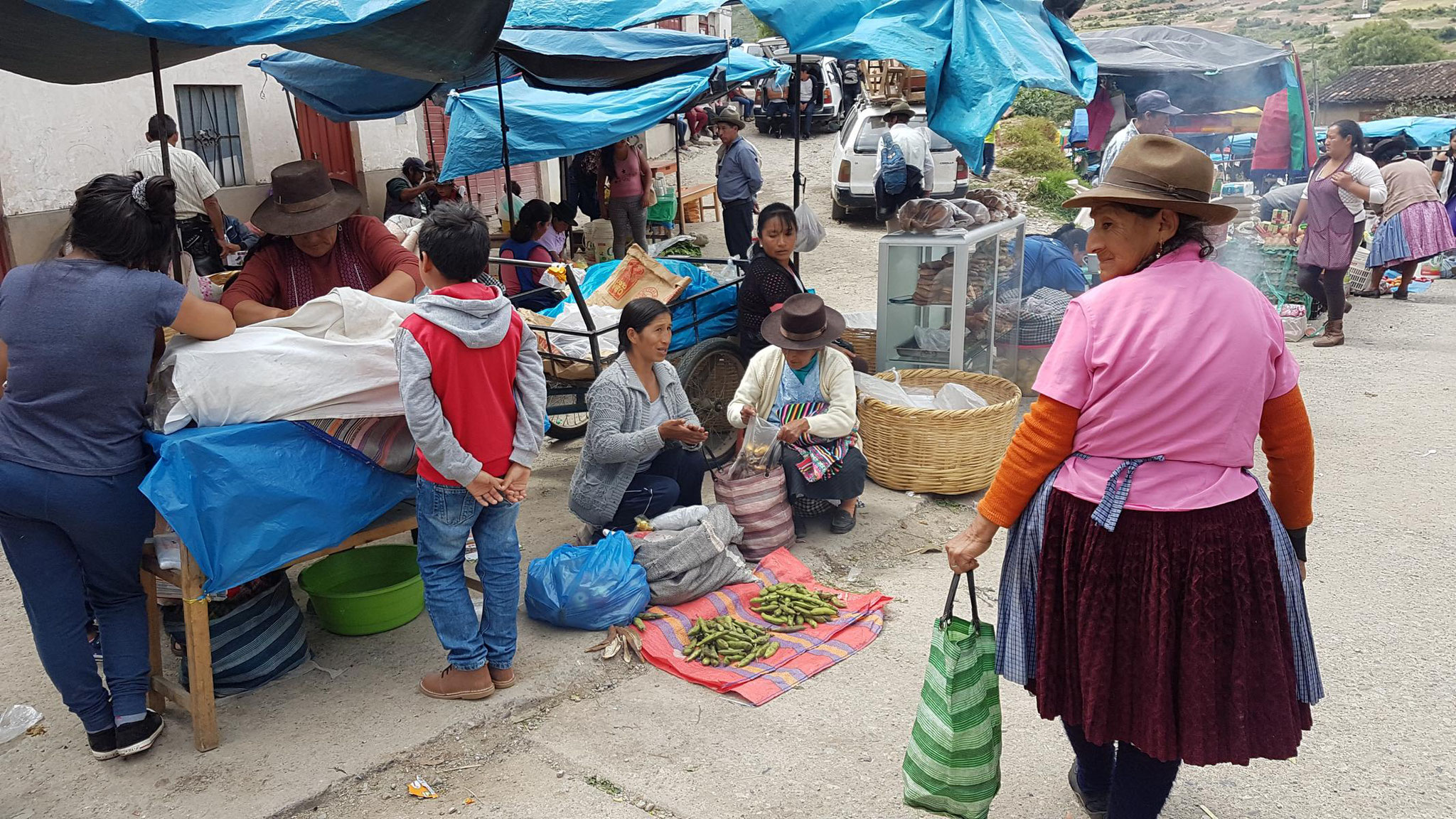Markt in Curahuasi.