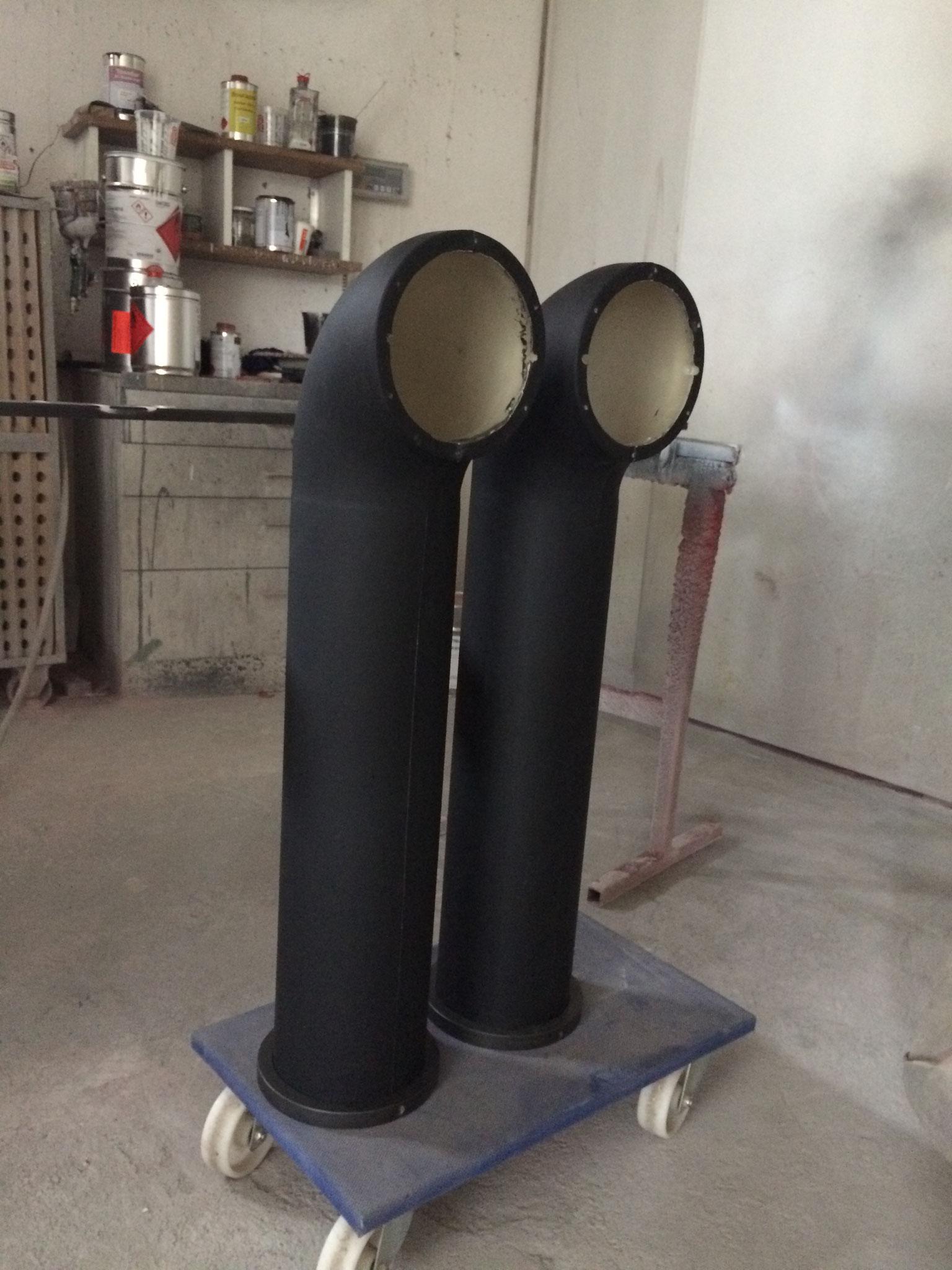 Lautsprechergehäuse bereit für Verkabelung