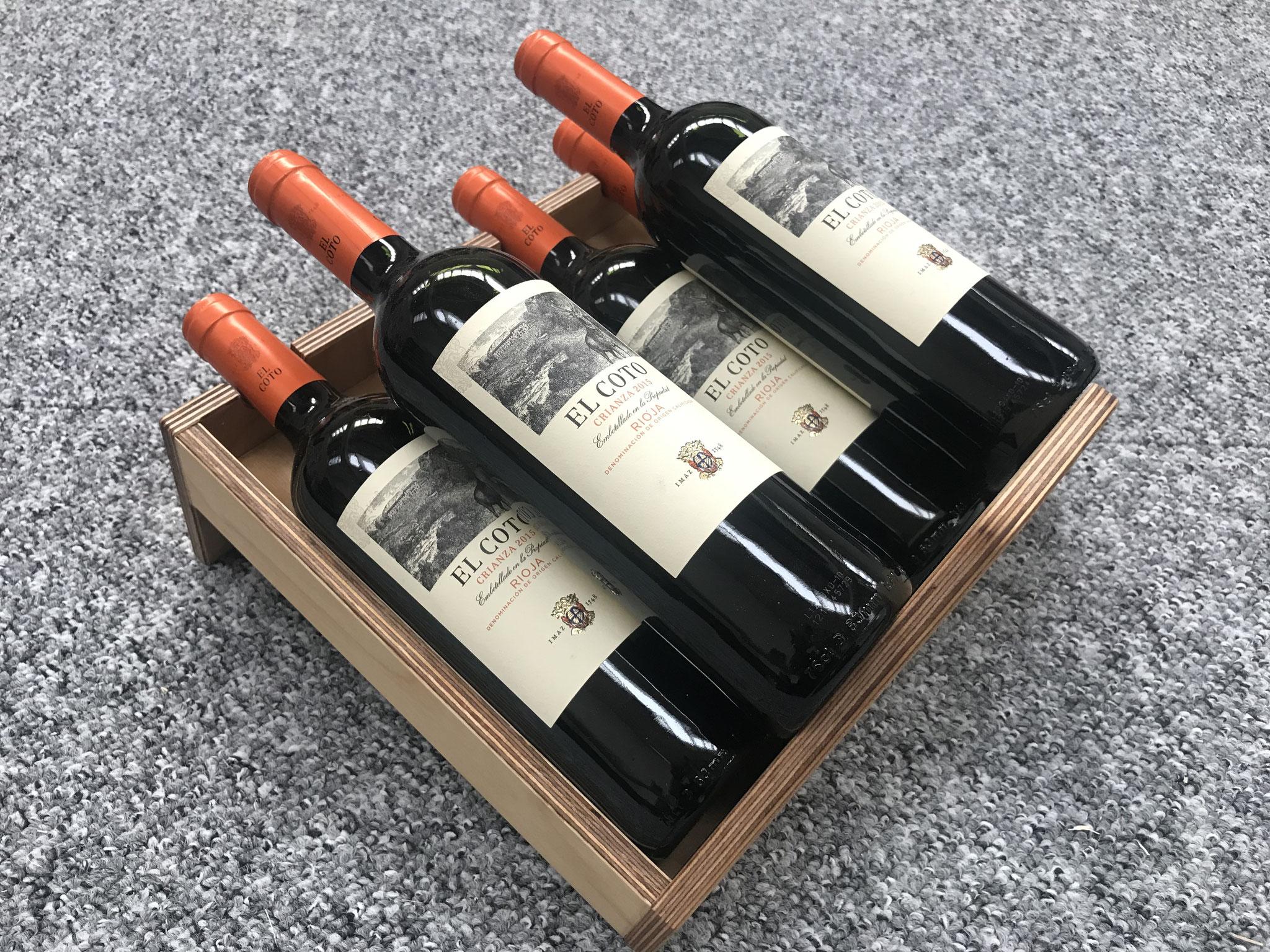 Weinpräsenter (Prototyp)