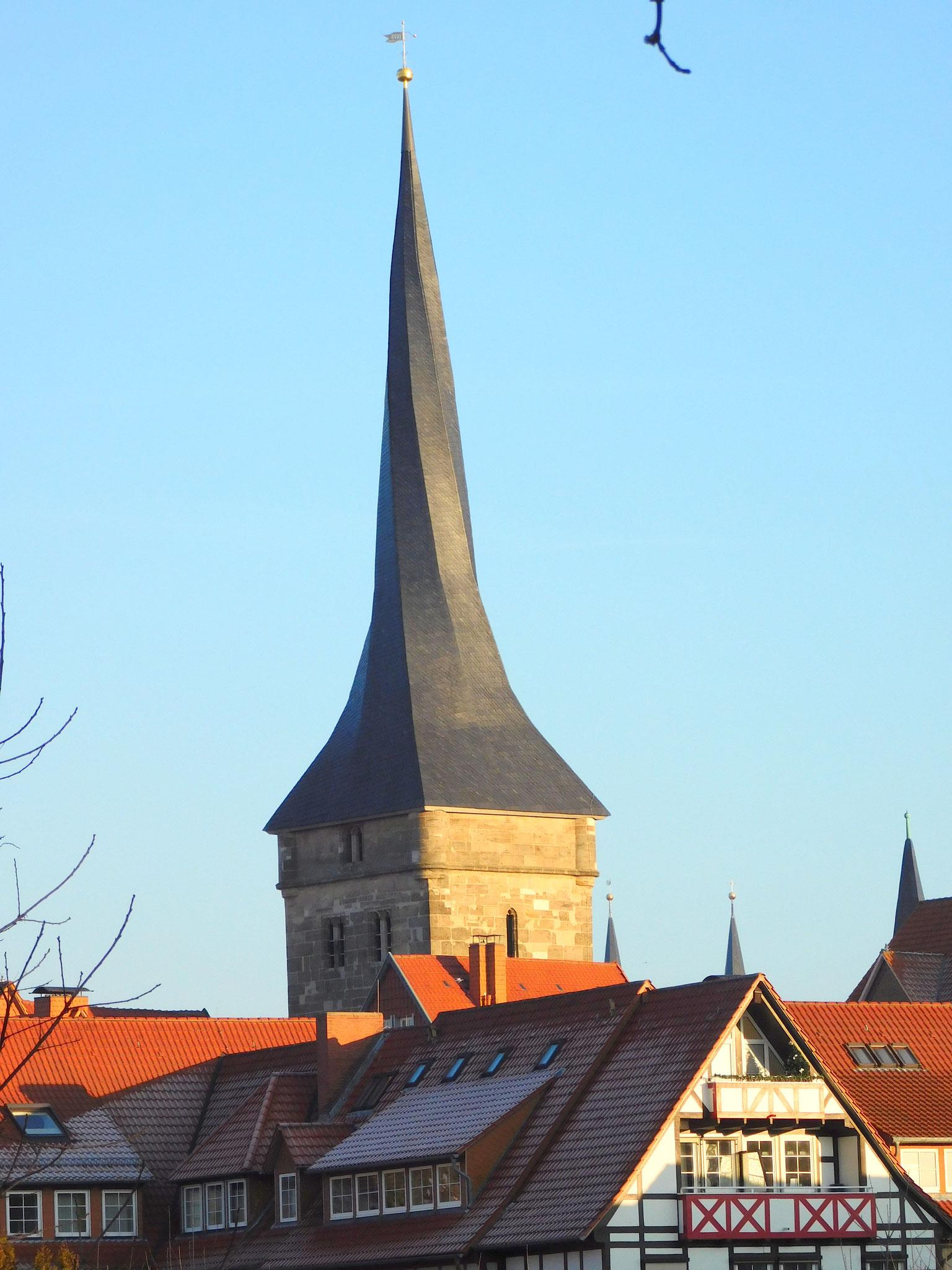Der Westerturm - das Wahrzeichen der Stadt