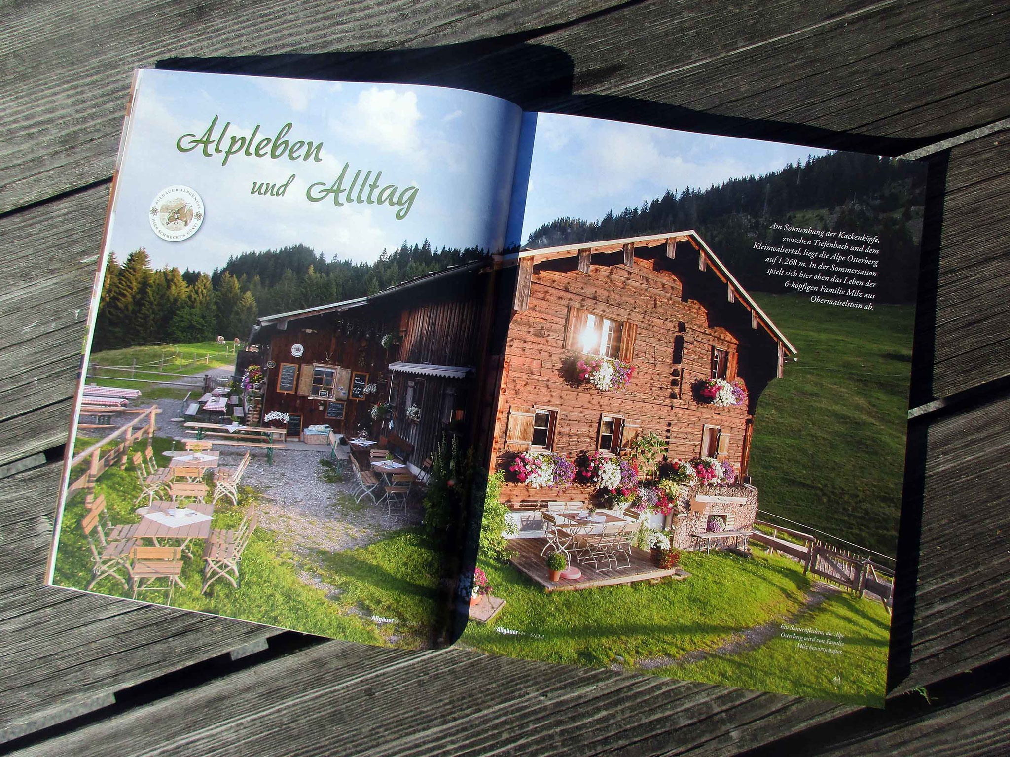 "Alpe Osterberg 2019 in ""Die AllgäuerIn"""