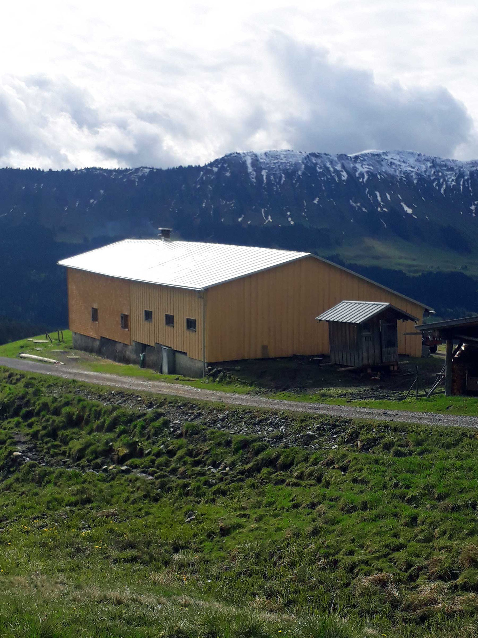 Alpe Osterberg – Hüttensanierung