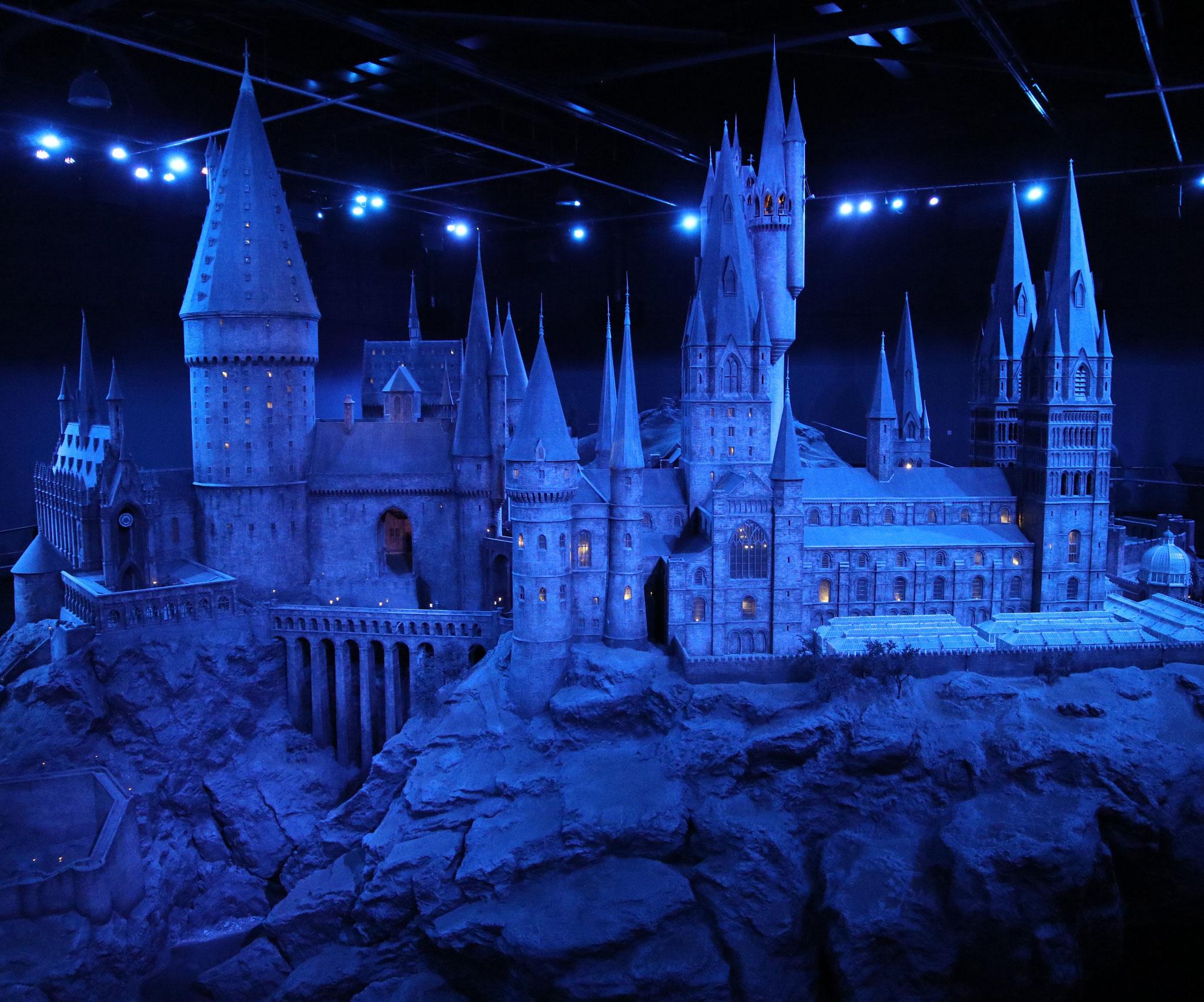 Hogwarts! Nochmal in groß, ganz zum Schluss. Perfekt <3