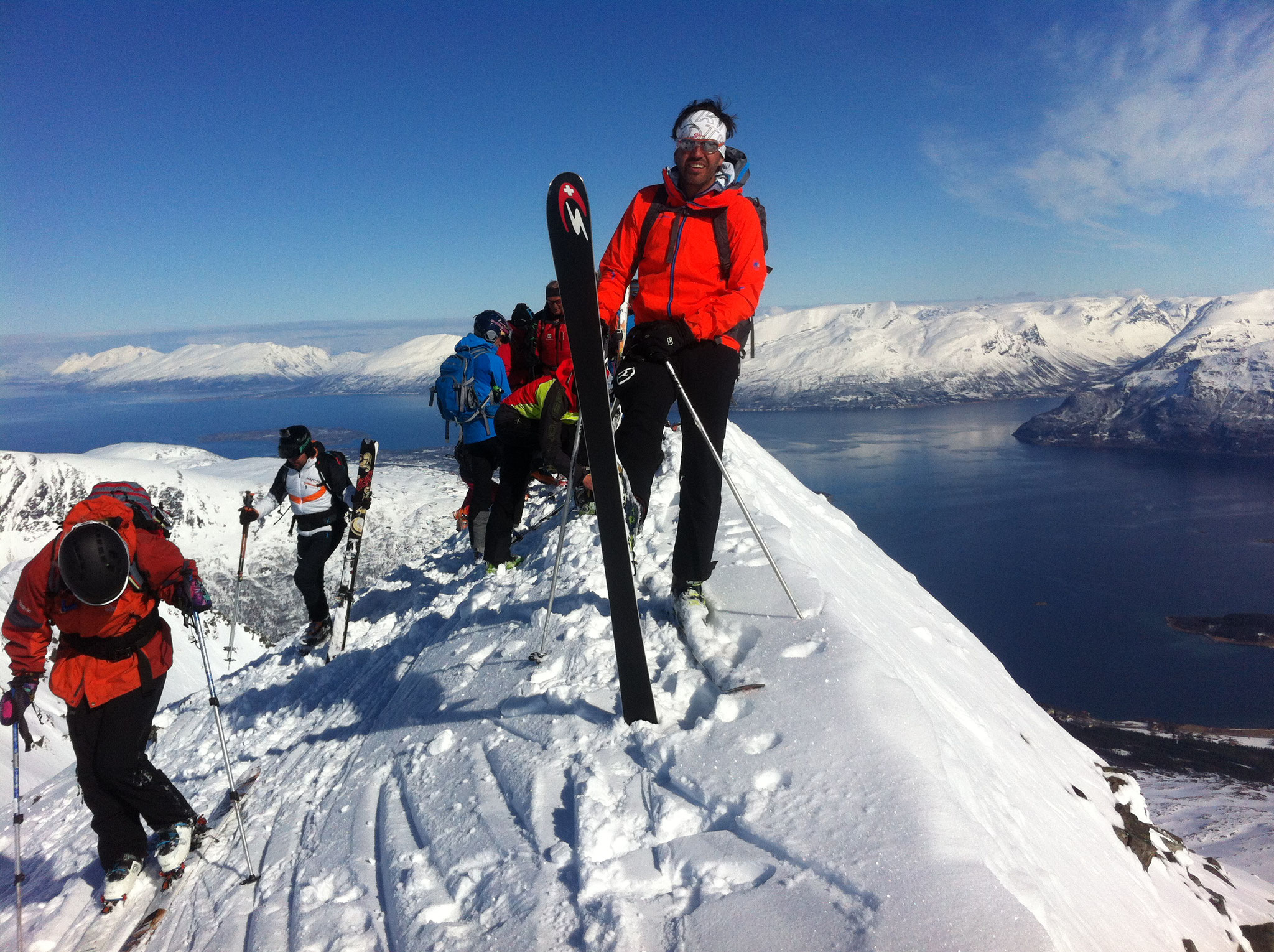 Norwegen Ski- und Sail 2016