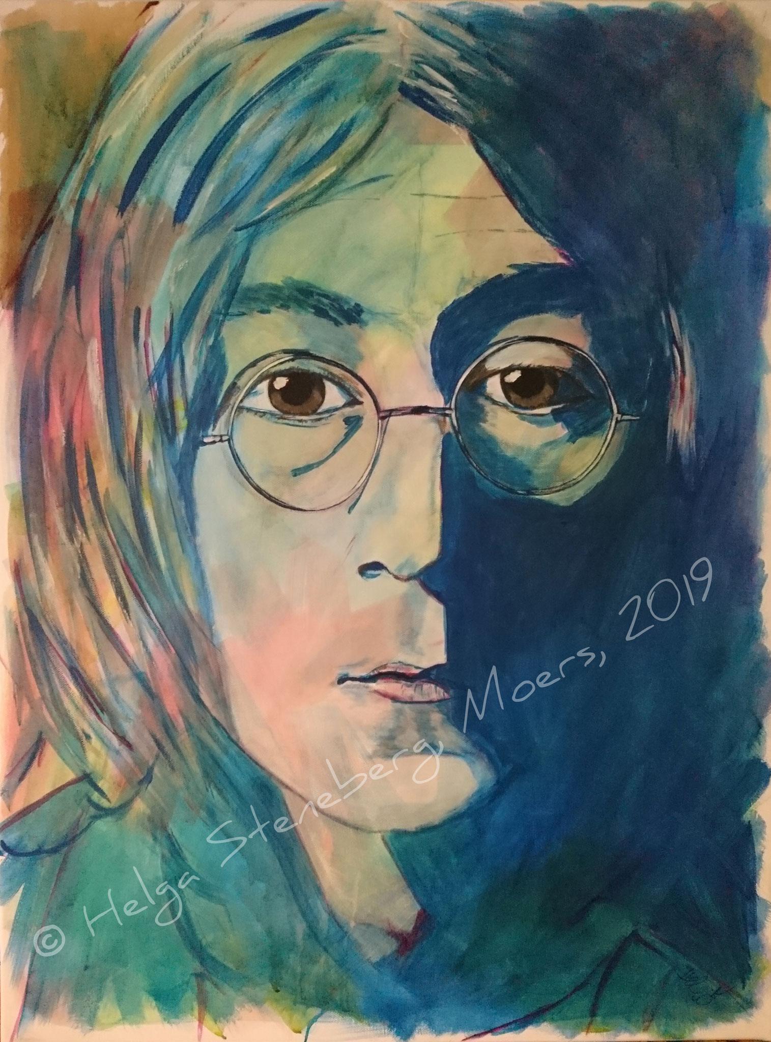 John Lennon, 80x60, LW