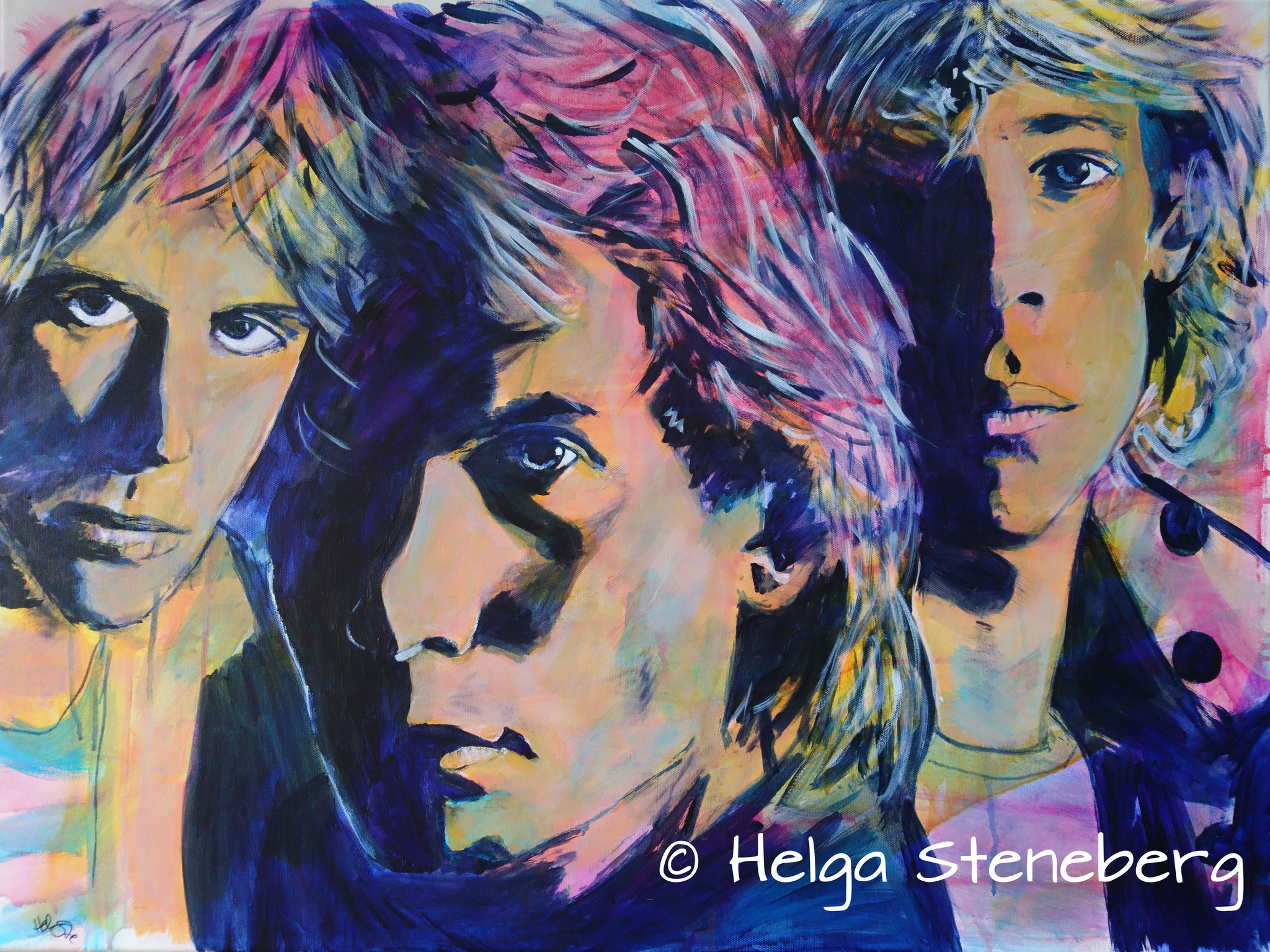 The Police, 80x60, LW