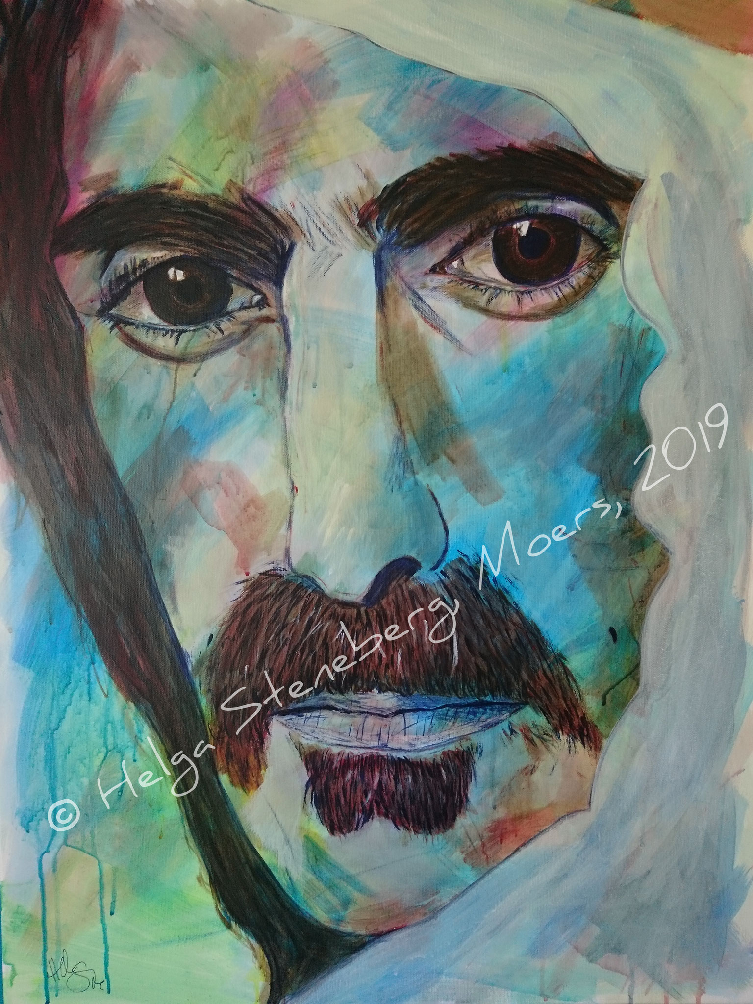 Frank Zappa, 80x60, LW - vorgemerkt
