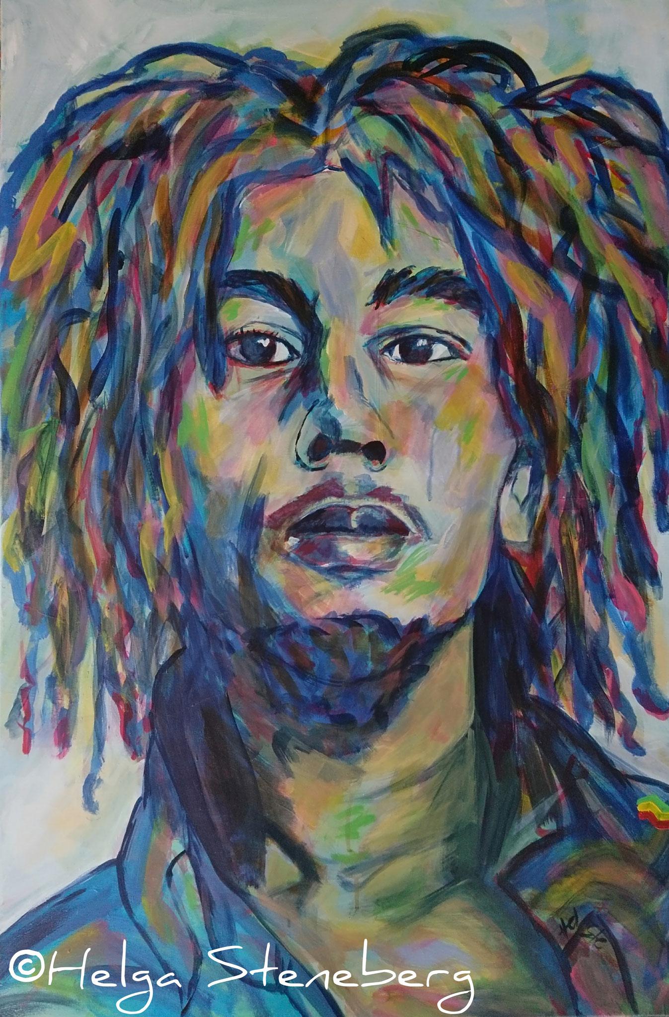 Bob Marley, 90x60, LW