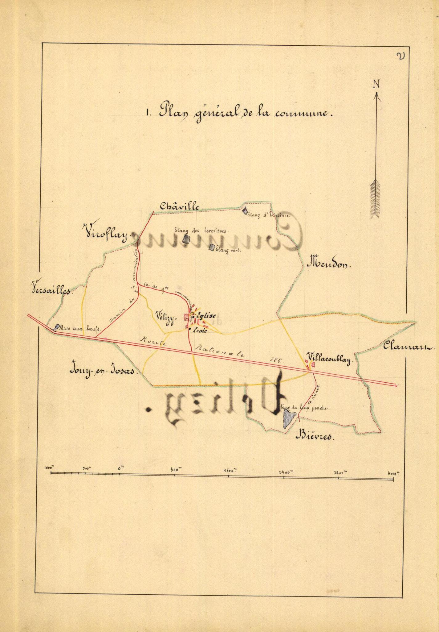 Page 2 - Monographie communale de l'instituteur de Vélizy, 1899