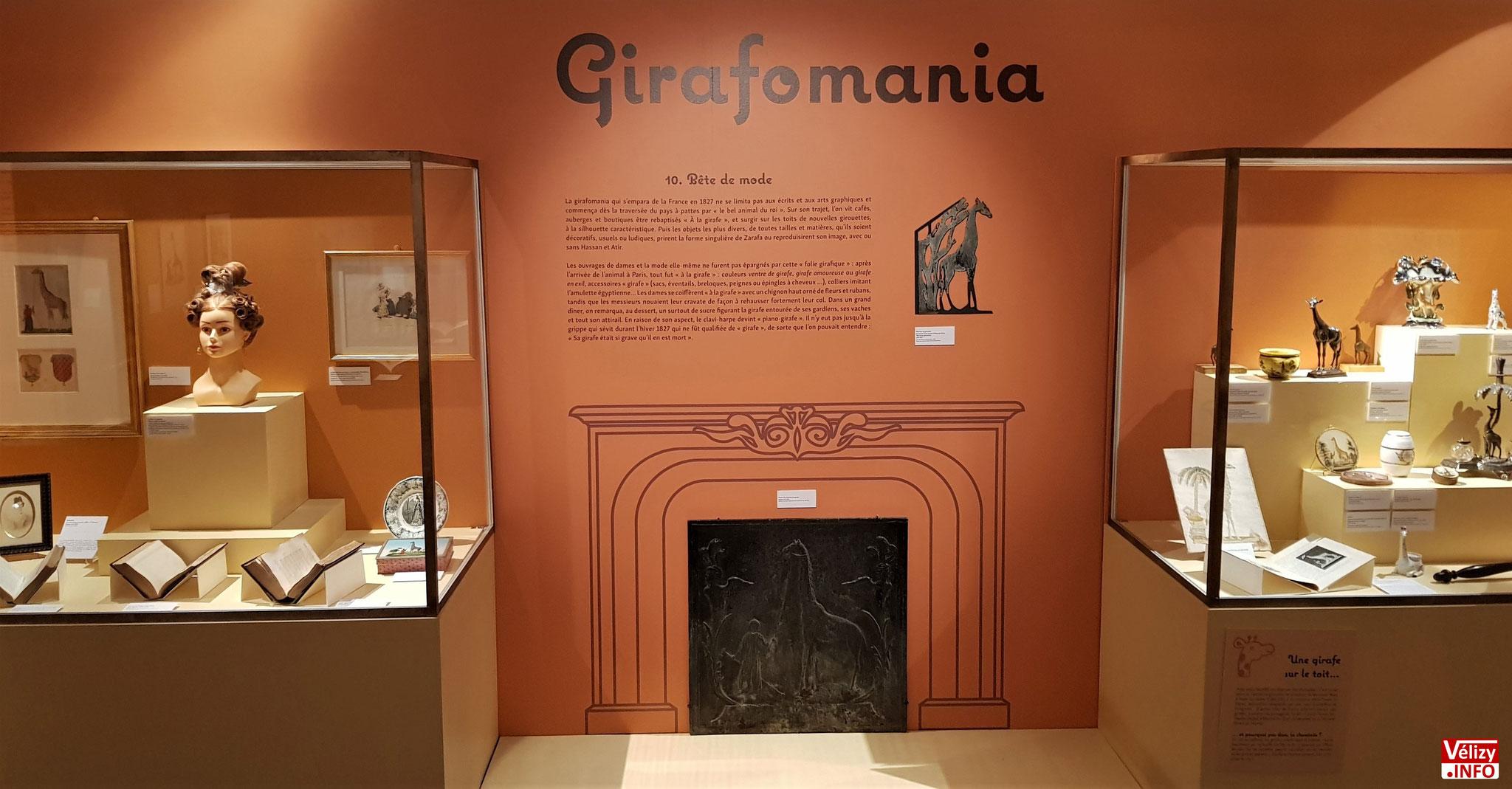 Exposition « L'extraordinaire aventure de Zarafa, la girafe de Charles X » - Château de Sceaux.