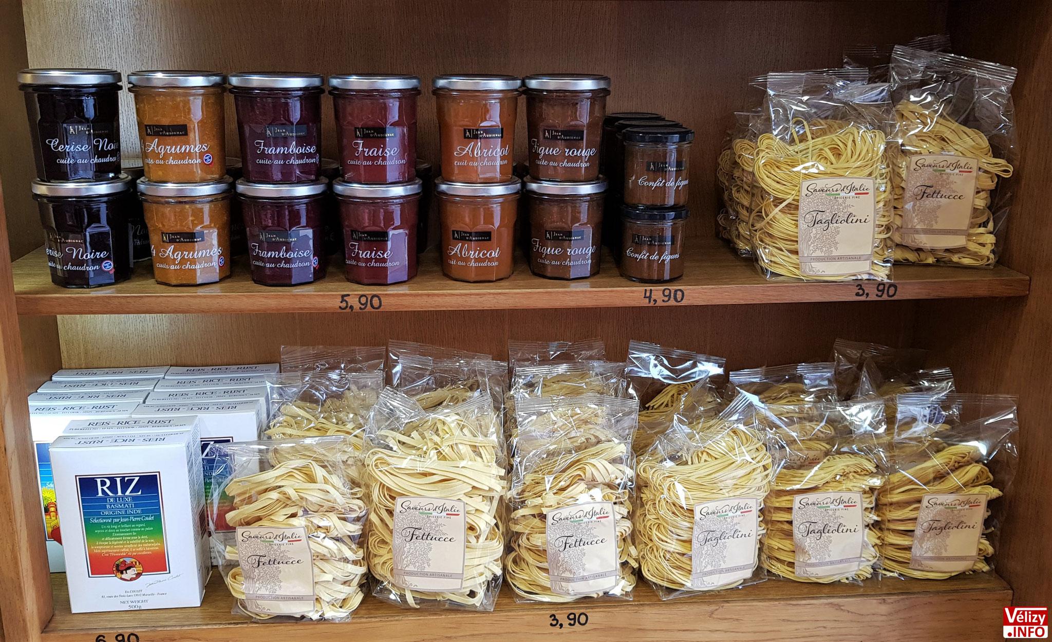 Épicerie Fine en vente à la Boucherie du Village - Chez Christophe à Vélizy-Villacoublay.