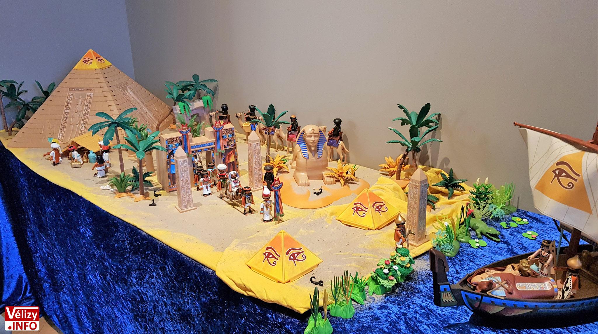 L'ÉGYPTE ANTIQUE – création de Philippe BROUSSIN.