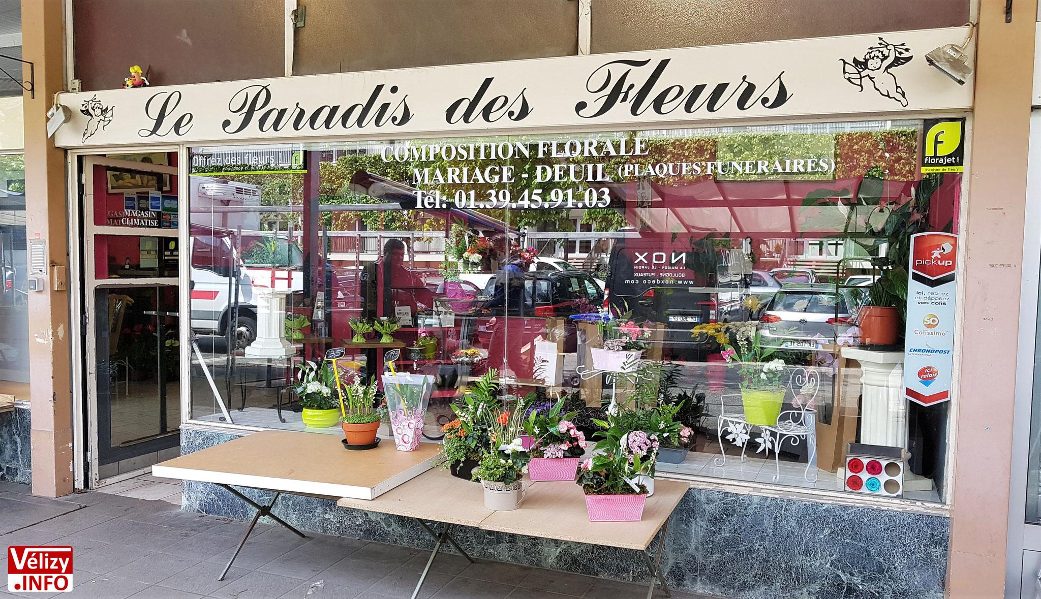 Mardi 1er mai 2018 - Vente du muguet à Vélizy-Villacoublay.