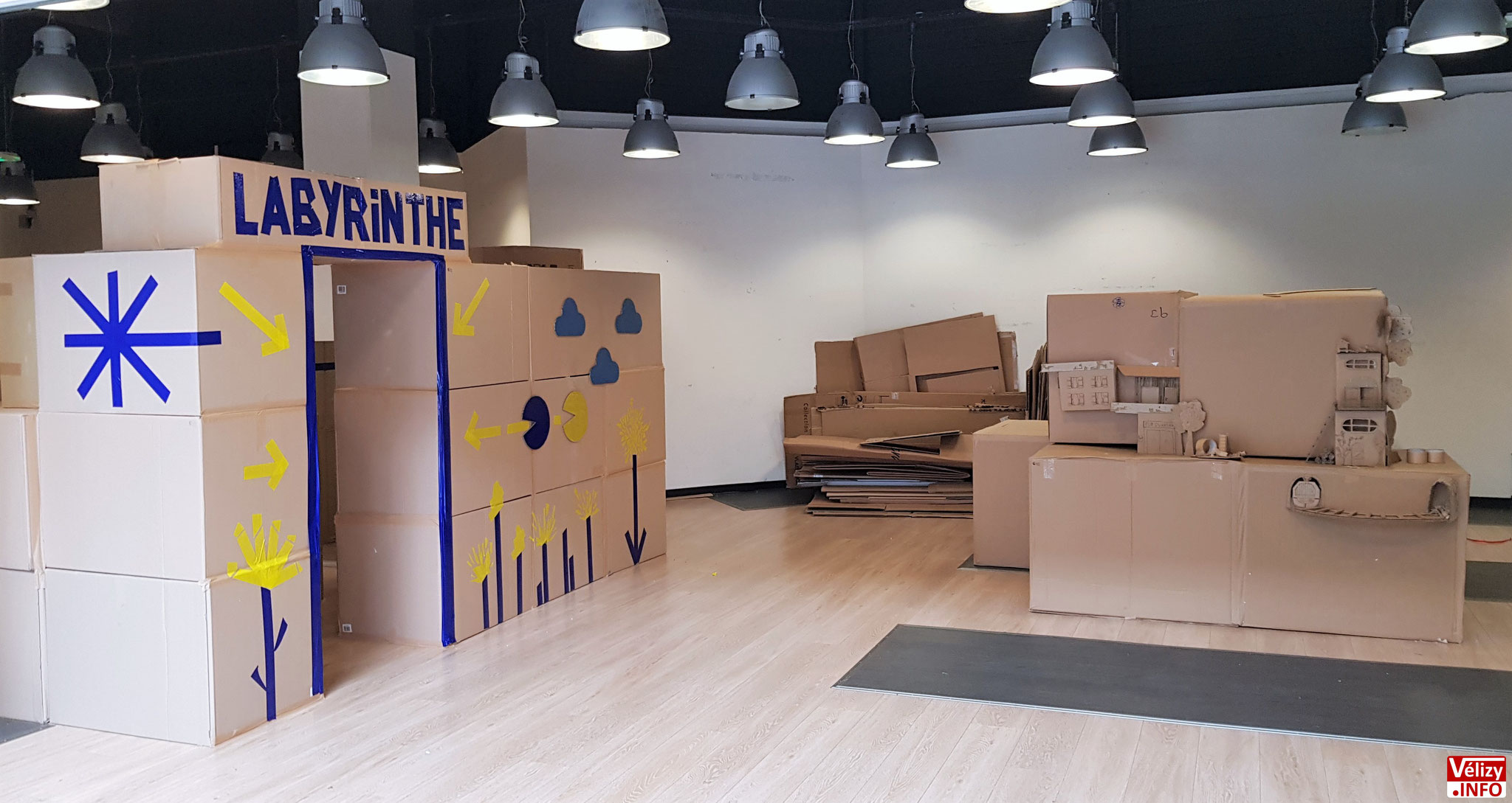 Différentes animations dans l'espace « le Recyc'Lab ».