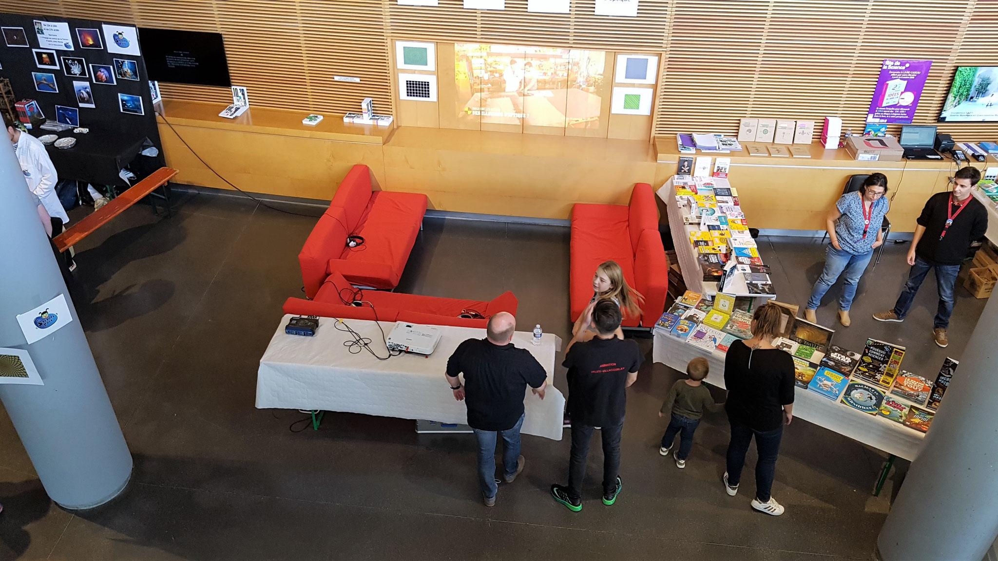 Fête de la Science 2018 à Vélizy-Villacoublay à L'Onde – Théâtre Centre d'art.