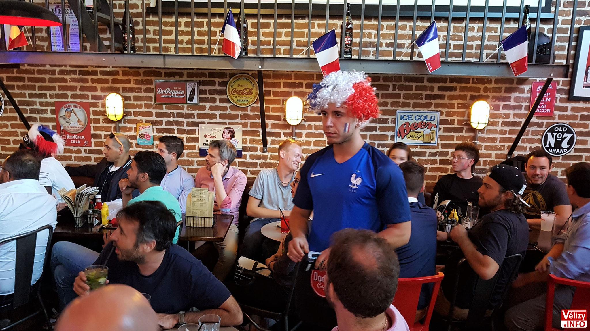 Doddy's Coffee Vélizy - Demi-Finale :  France / Belgique - Mardi 10 juillet 2018.