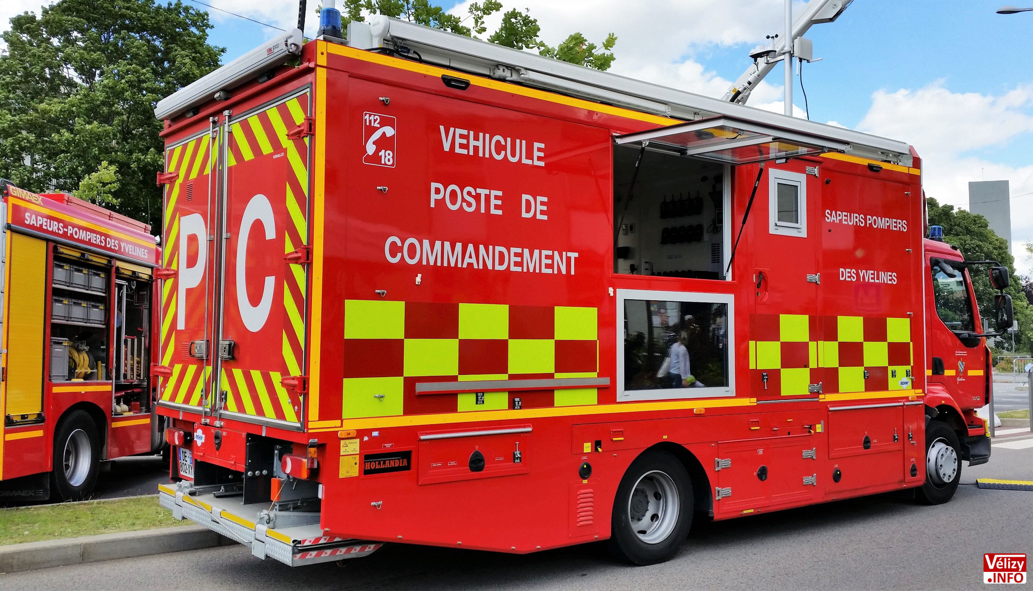 Journée portes ouvertes, 15 juin 2019, Centre d'Incendie et de Secours de Vélizy-Villacoublay.