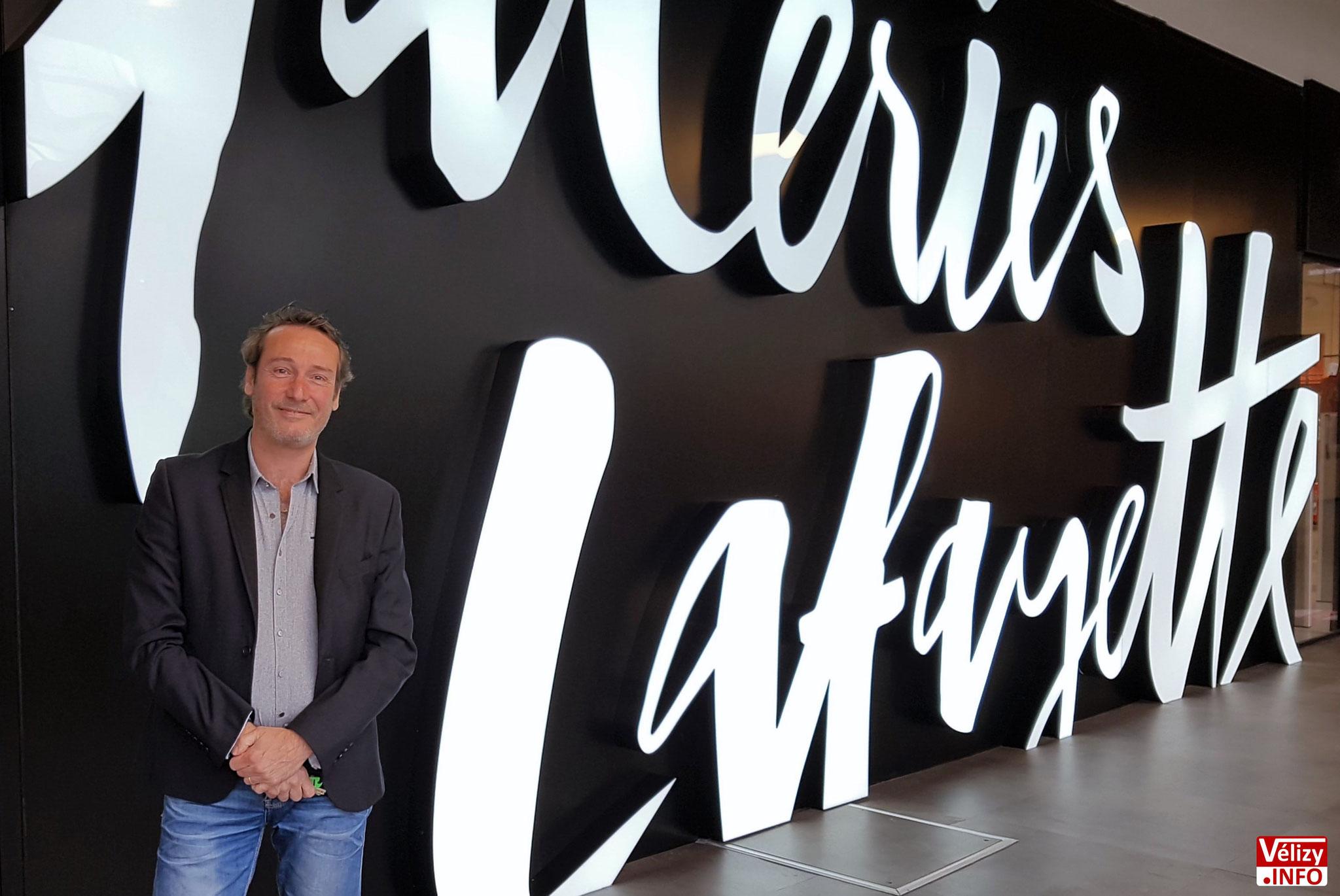 Frédéric Boucher, directeur de l'Usine Mode & Maison - Vélizy-Villacoublay.