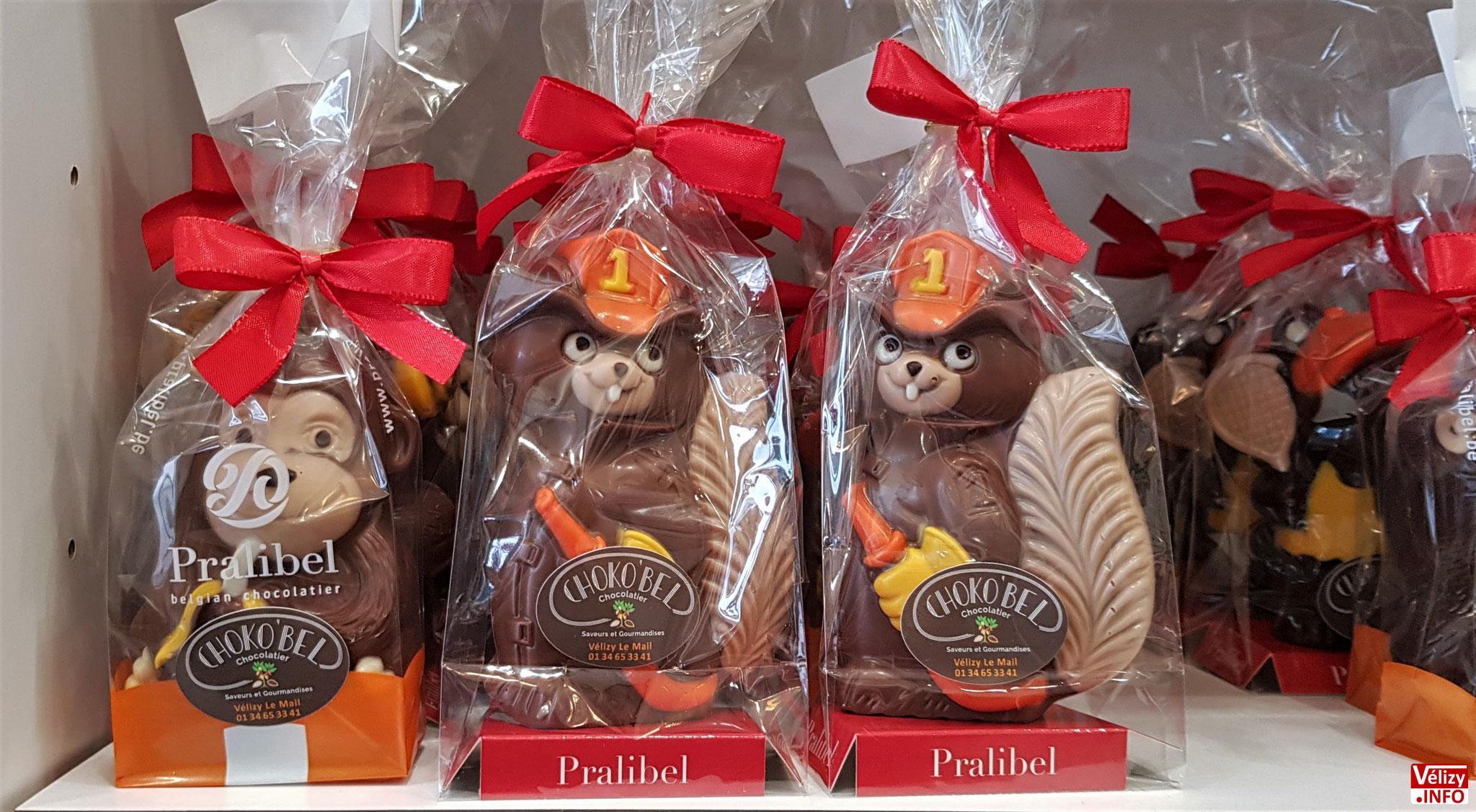 Chocolats de Noël - Boutique Choko'bel à Vélizy-Villacoublay.