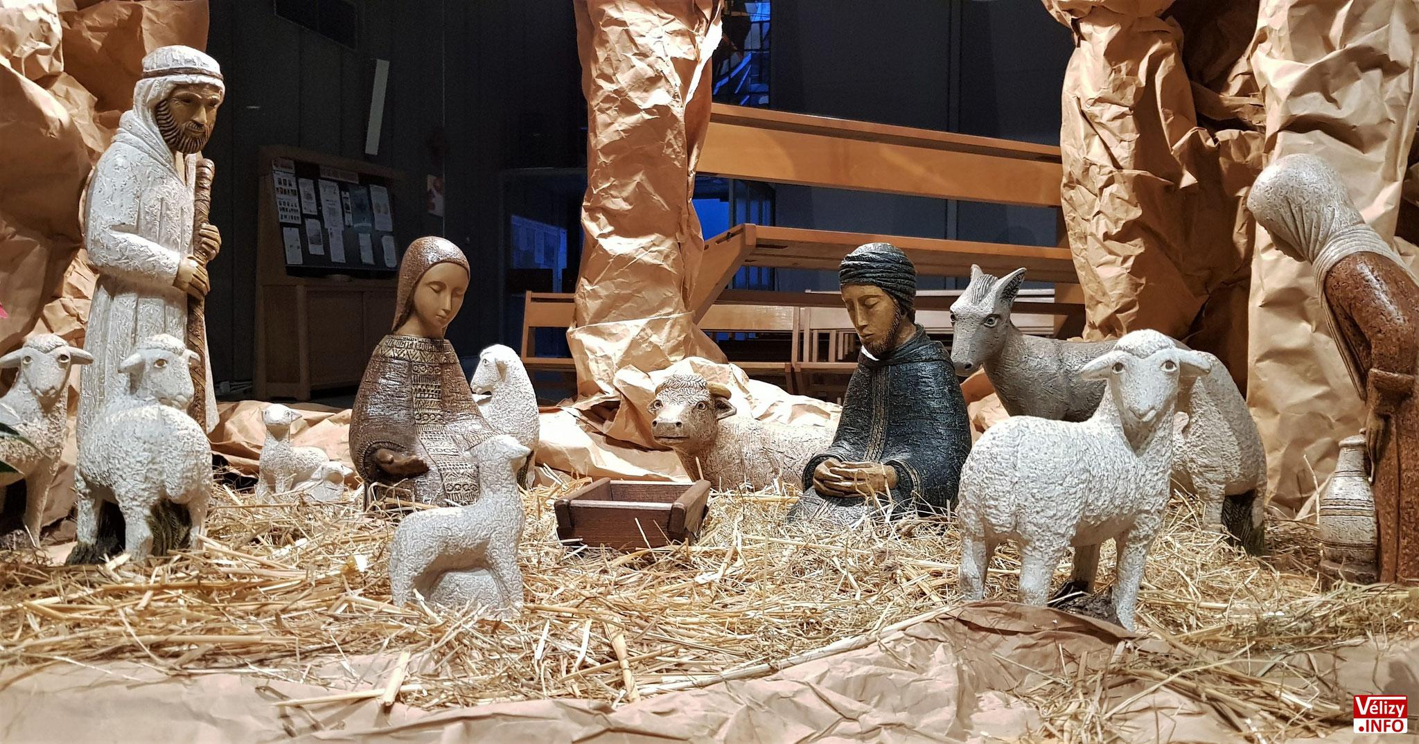 Crèche de l'église Saint Jean Baptiste (2019) – Vélizy-Villacoublay - © Vélizy Info