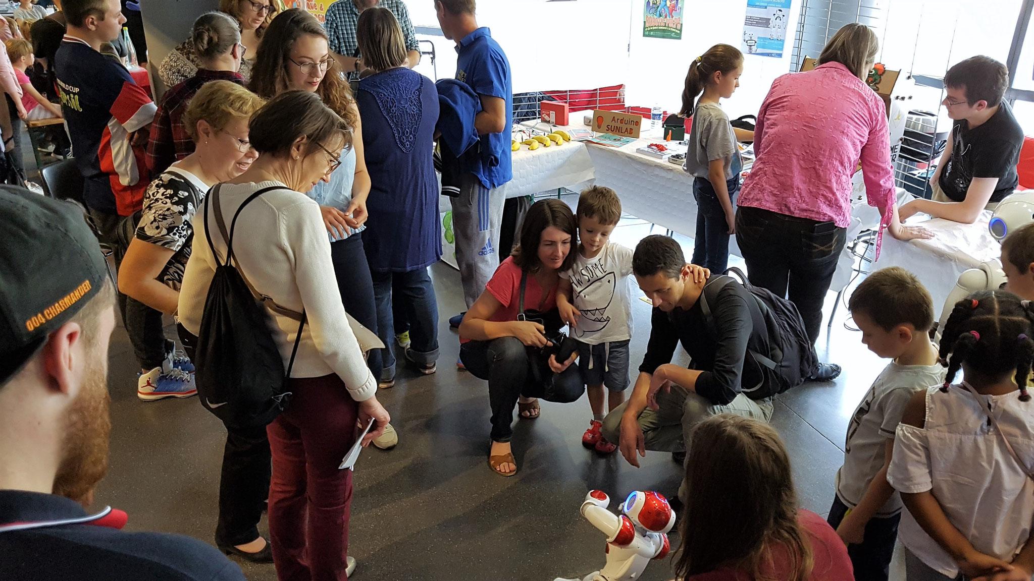 INSTITUT DES SCIENCES ET TECHNIQUES DES YVELINES - Fête de la Science 2018 à Vélizy-Villacoublay à L'Onde – Théâtre Centre d'art.