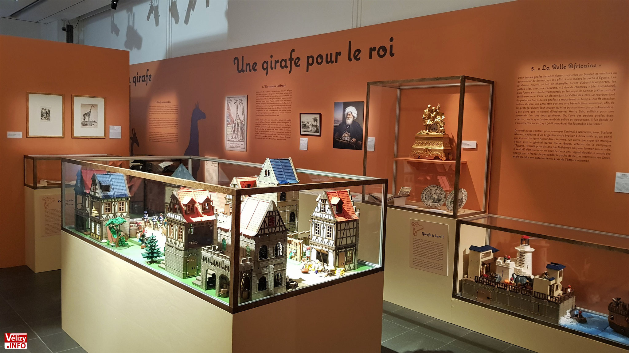L'arrivée à Auxerre. Diorama de Jean-Philippe Broussin. Play-Original